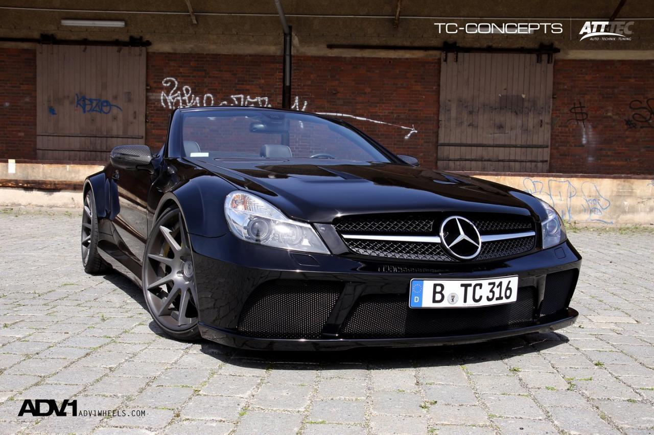 Tc concepts presents mercedes benz sl65 for Mercedes benz 700 series price