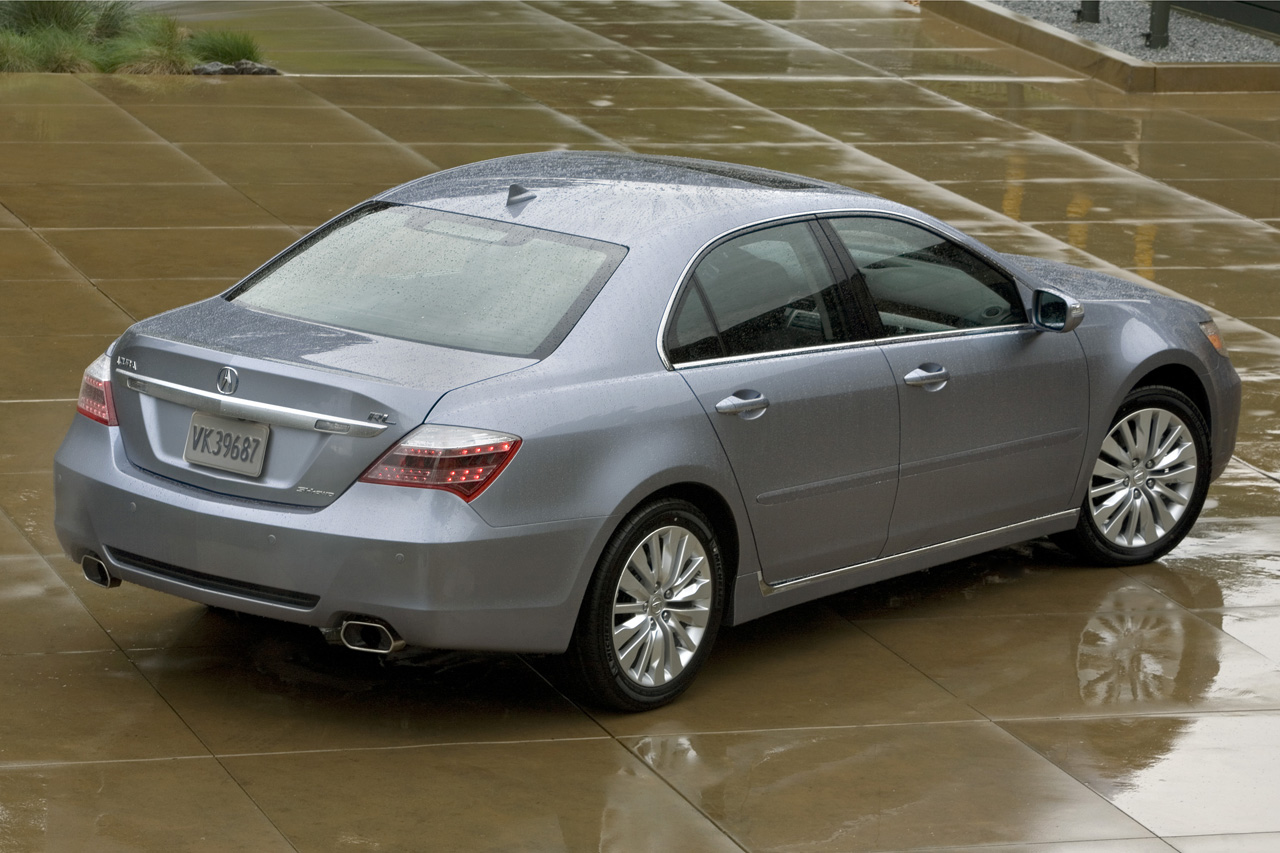 2011 Acura RL - $47 200 in the US