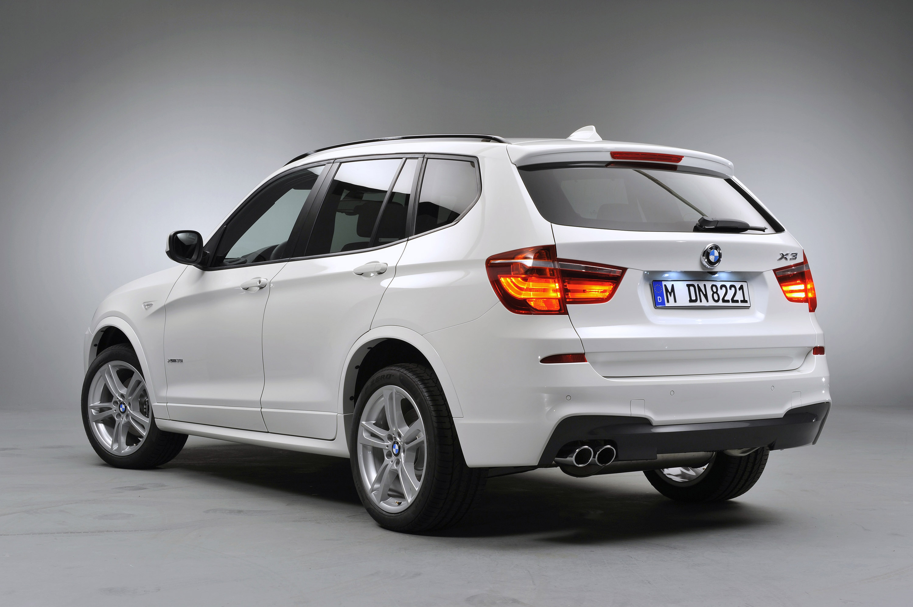 2011 Bmw X3 M Sports Package At The Paris Motor Show