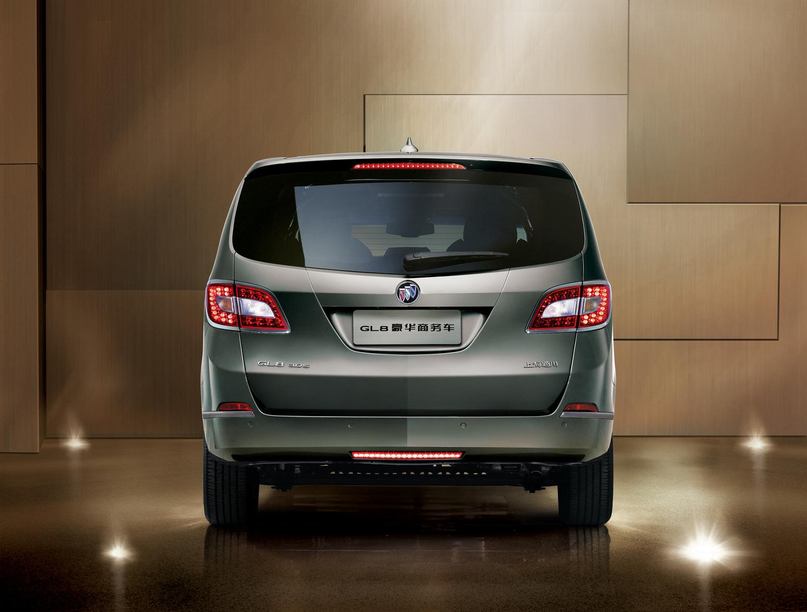 2011 Buick GL8 will hit the Chinese market in January