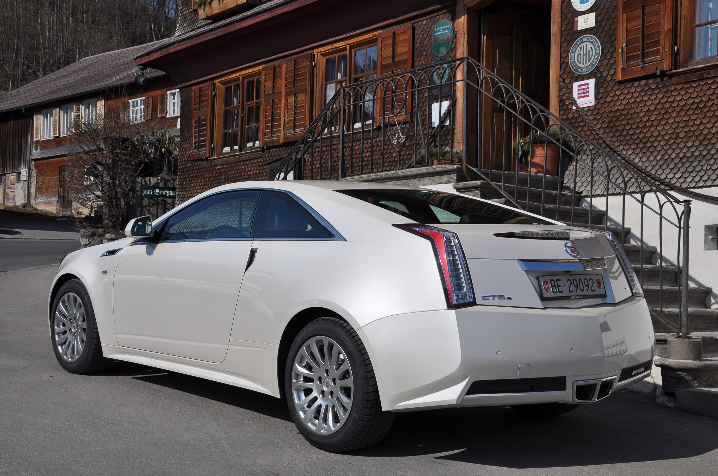 2011 Cadillac Cts Awd Coupe Picture 51383