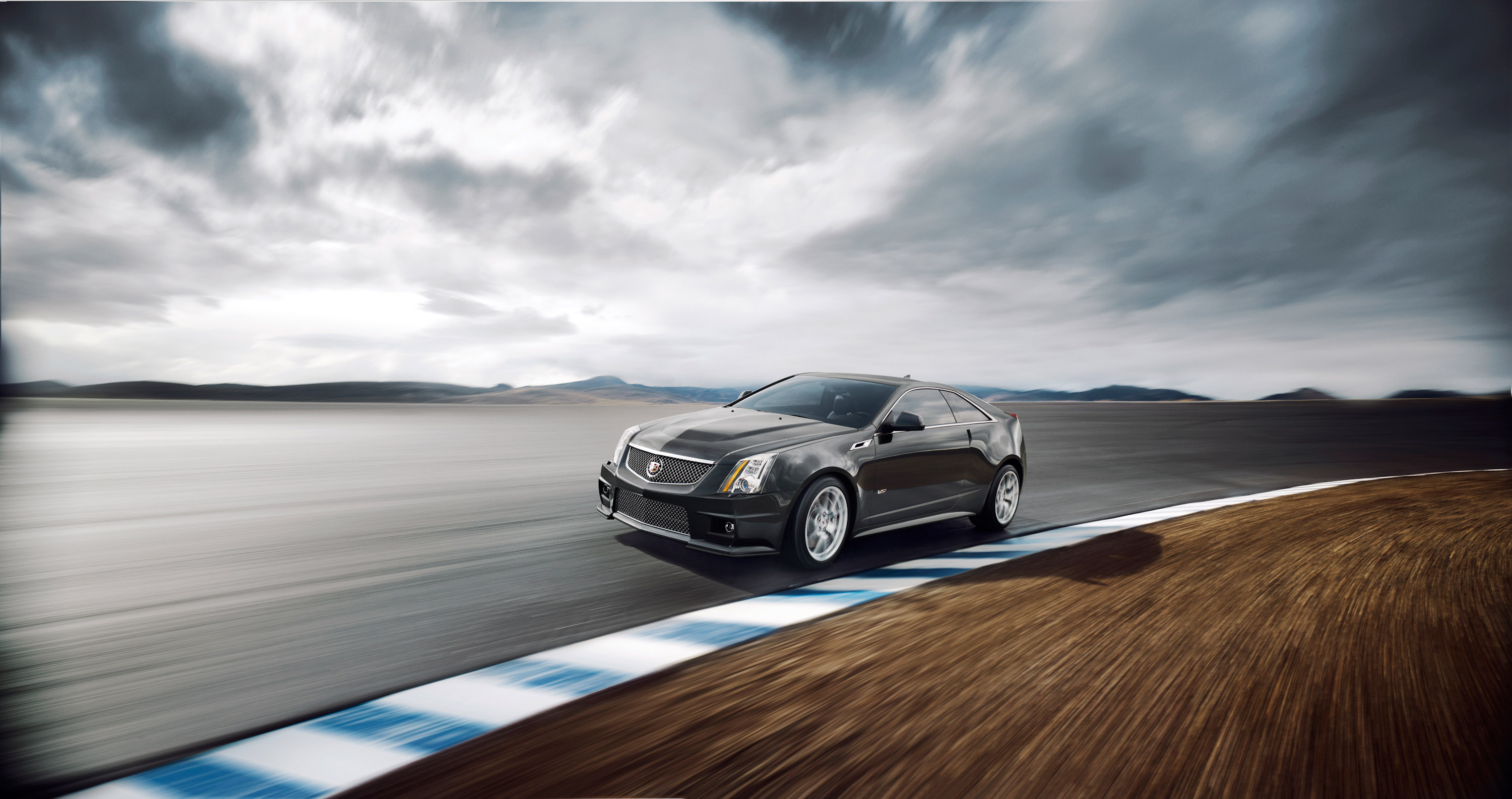 Drift With The Supercars At Monticello Cadillac Cts V Coupe Video