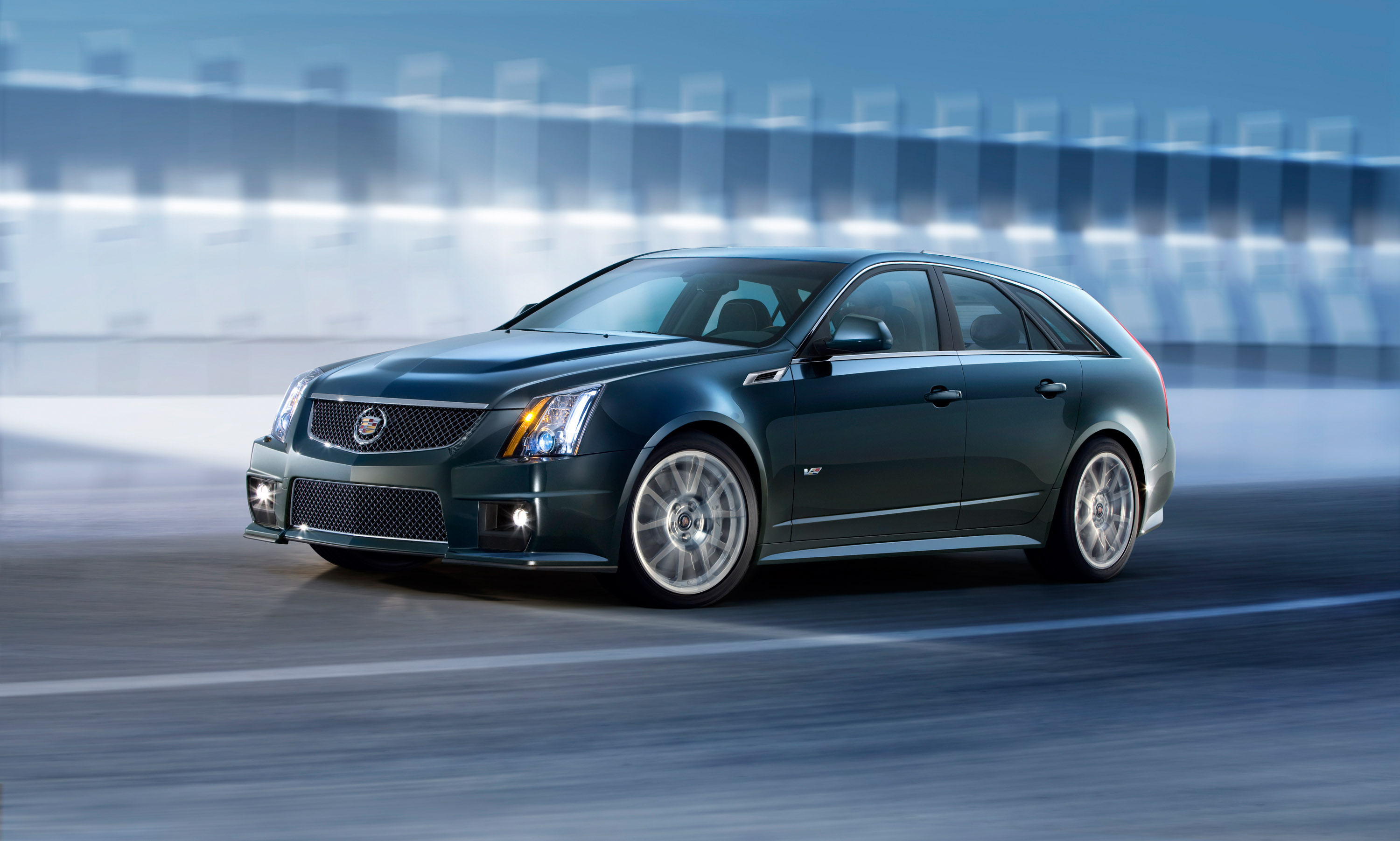cadillac reveals its 2011 cts v sport wagon. Black Bedroom Furniture Sets. Home Design Ideas