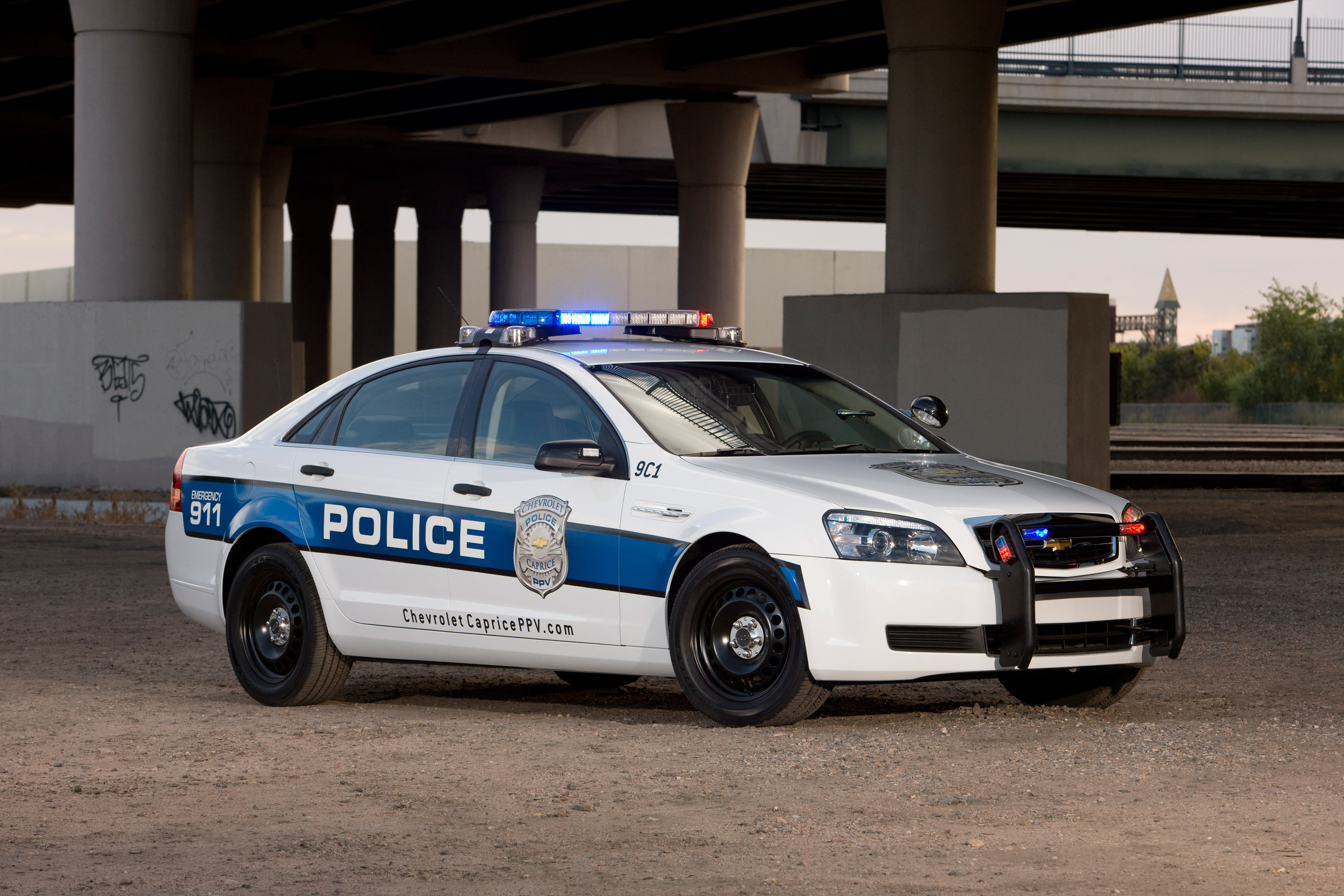 Watch Out 2011 Chevrolet Caprice Police Car With 355