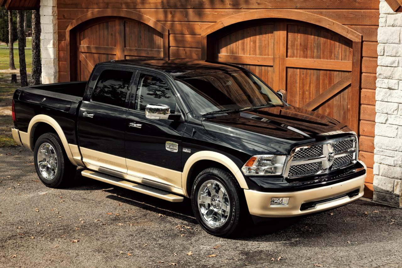 Dodge Ram Laramie Longhorn Edition At The 2010 Texas State