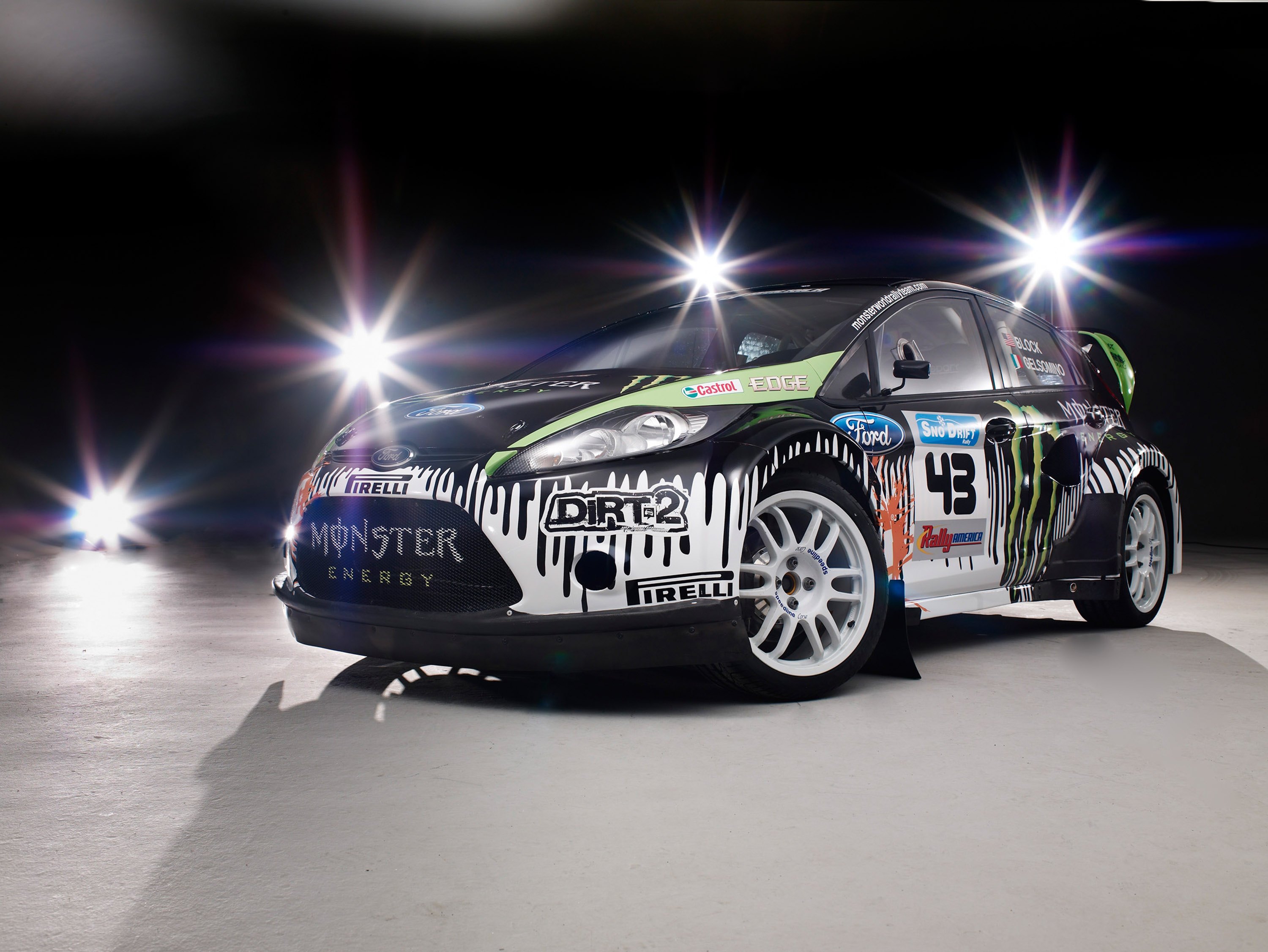Ken block s monster ford fiesta picture from our gallery which contains 5 high resolution images of the model