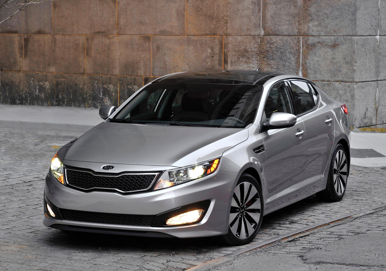 2011 Kia Optima Sedan US sales start
