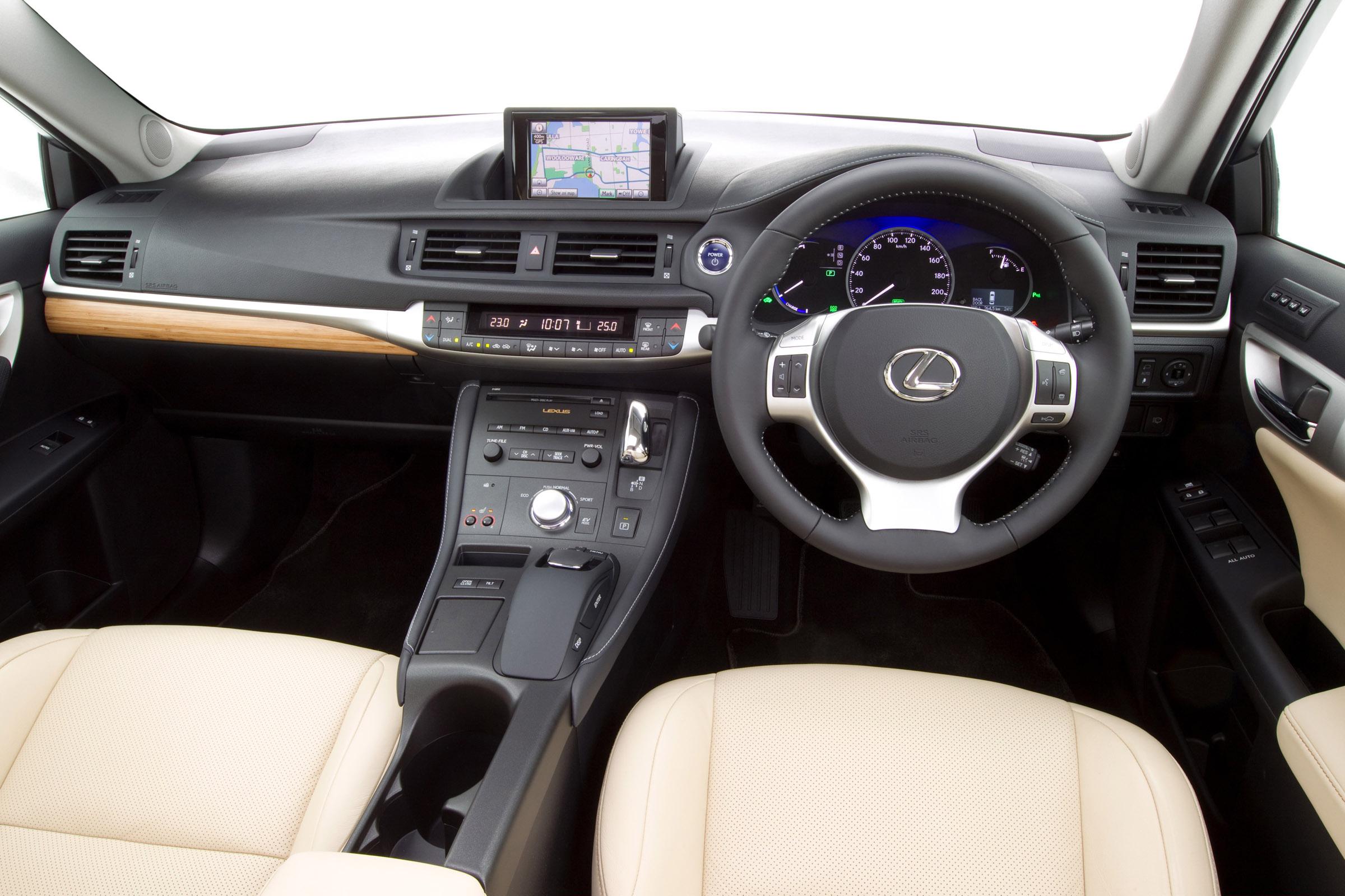 2011 Lexus Ct 200h F Sport Picture 51415