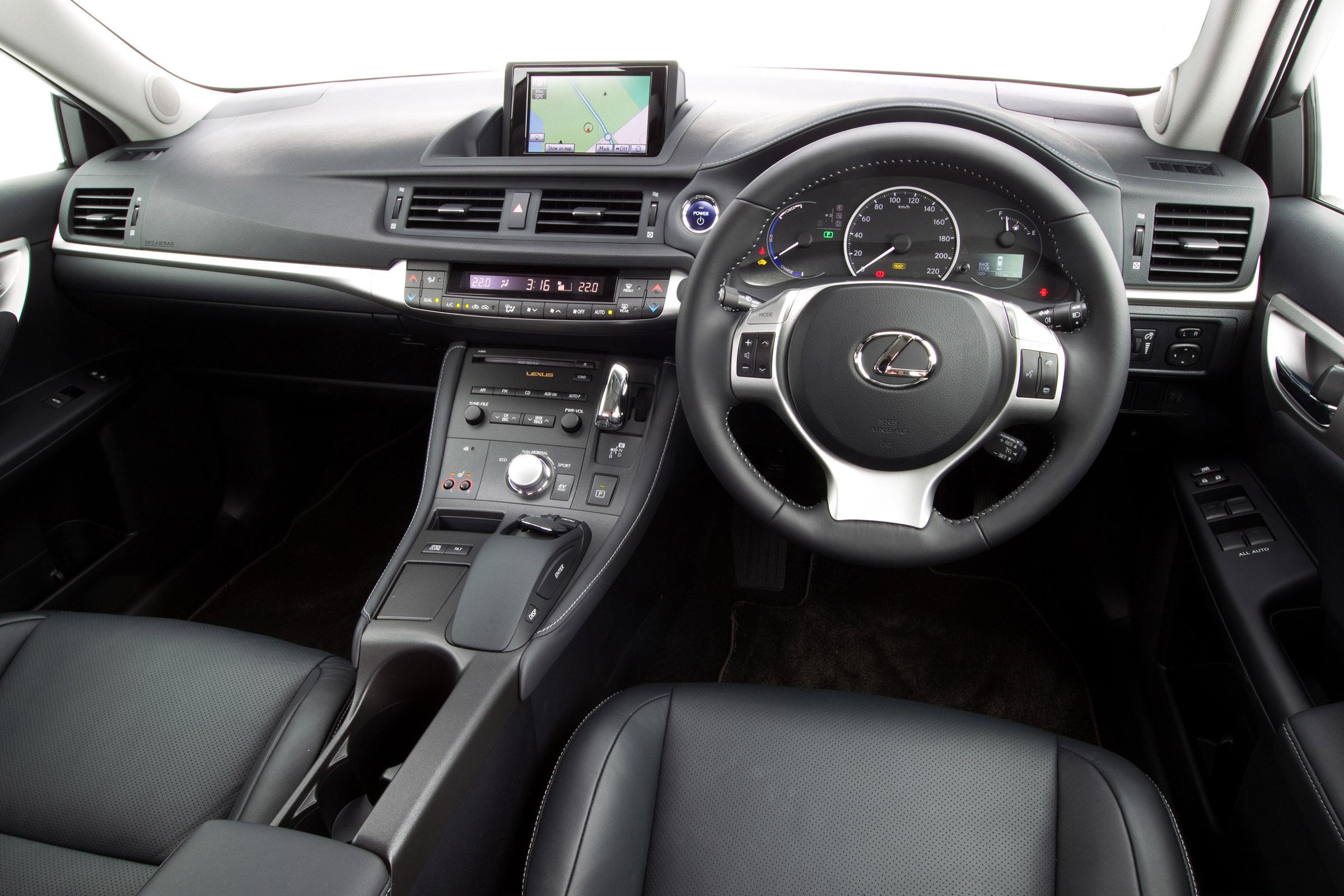 2011 Lexus Ct 200h F Sport Picture 51416