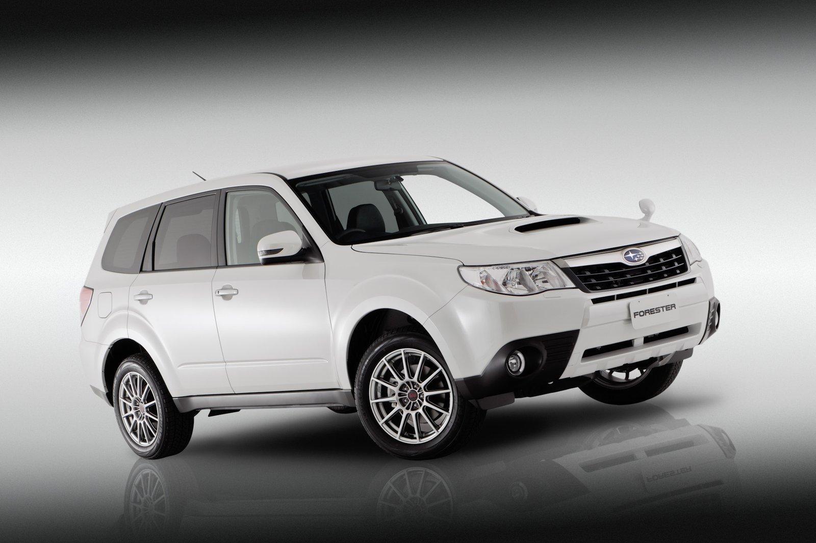 Subaru Forester S Edition At The Australian International