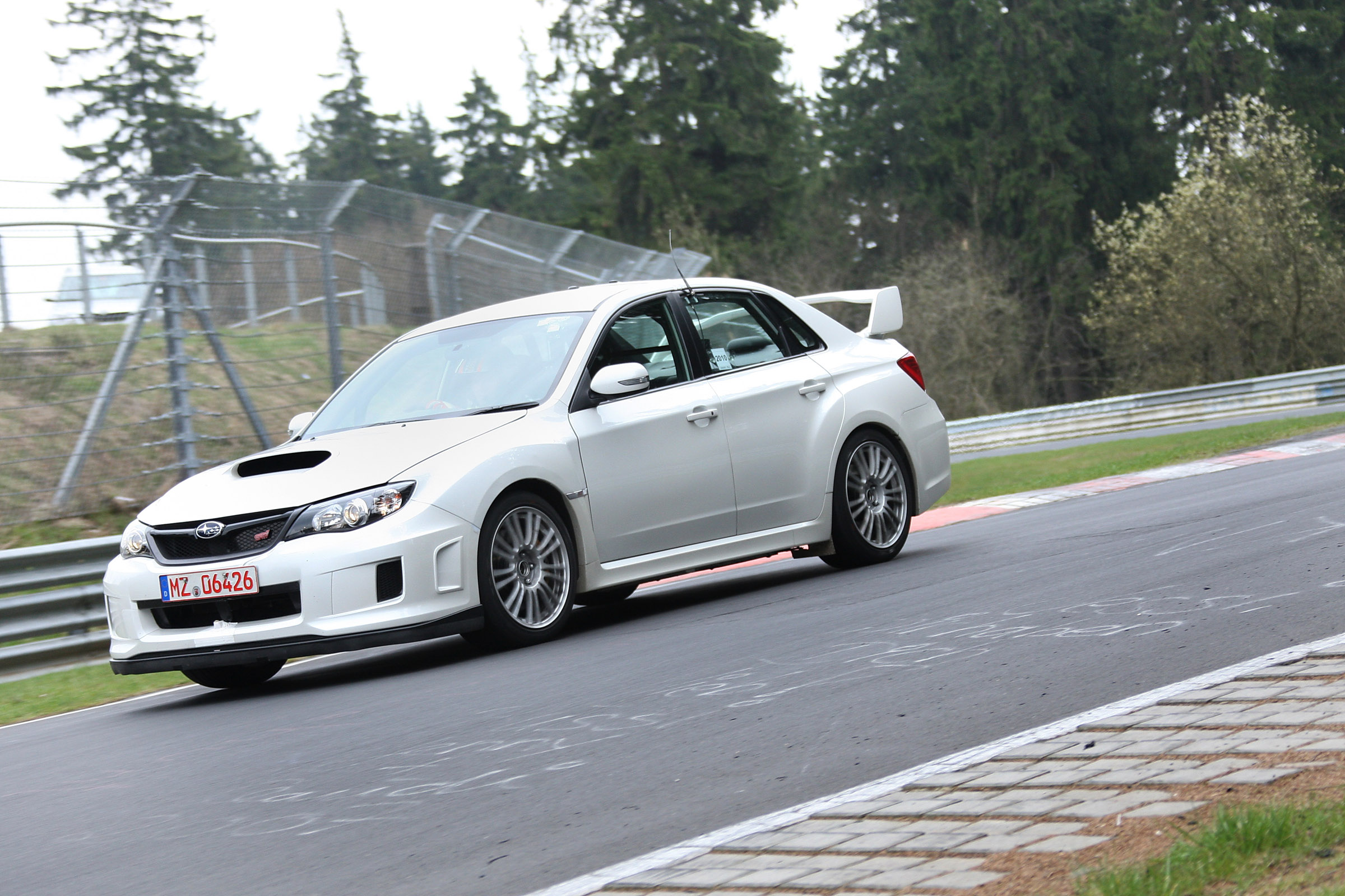 2011 Subaru Wrx Sti 4 Door At Nurburgring Picture 38353