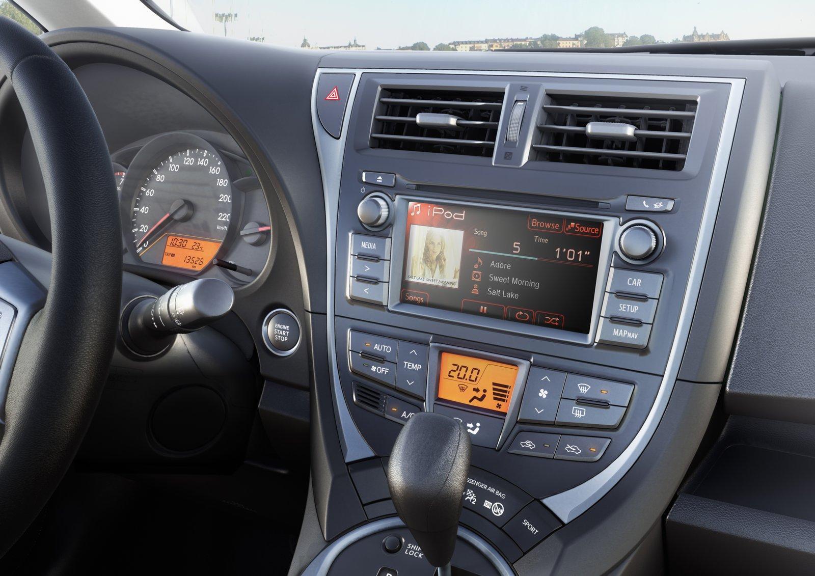 2011 Toyota Verso S 2015 Interior