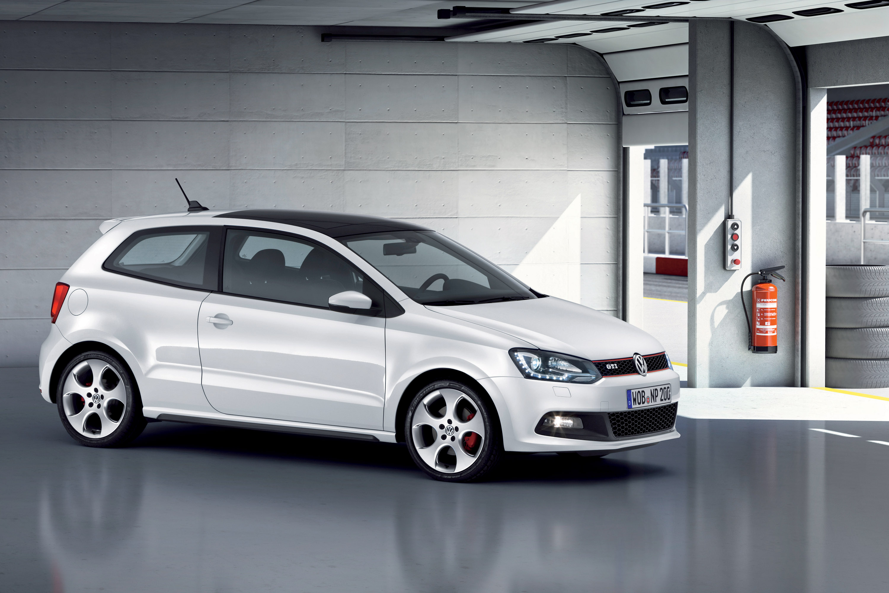 2011 volkswagen polo gti revealed. Black Bedroom Furniture Sets. Home Design Ideas