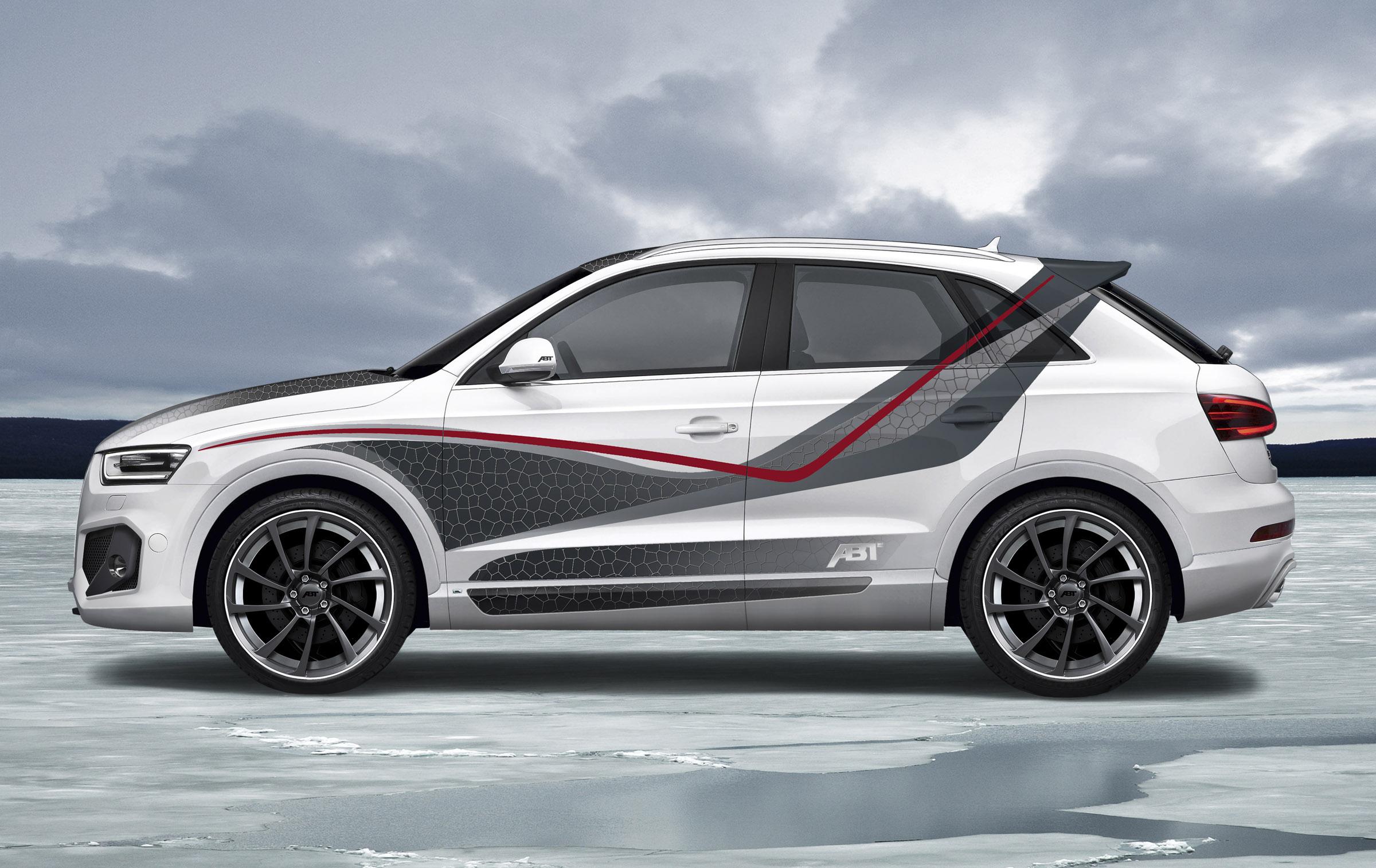 Audi Q3 Front Grill >> 2012 Geneva Motor Show: ABT Audi QS3
