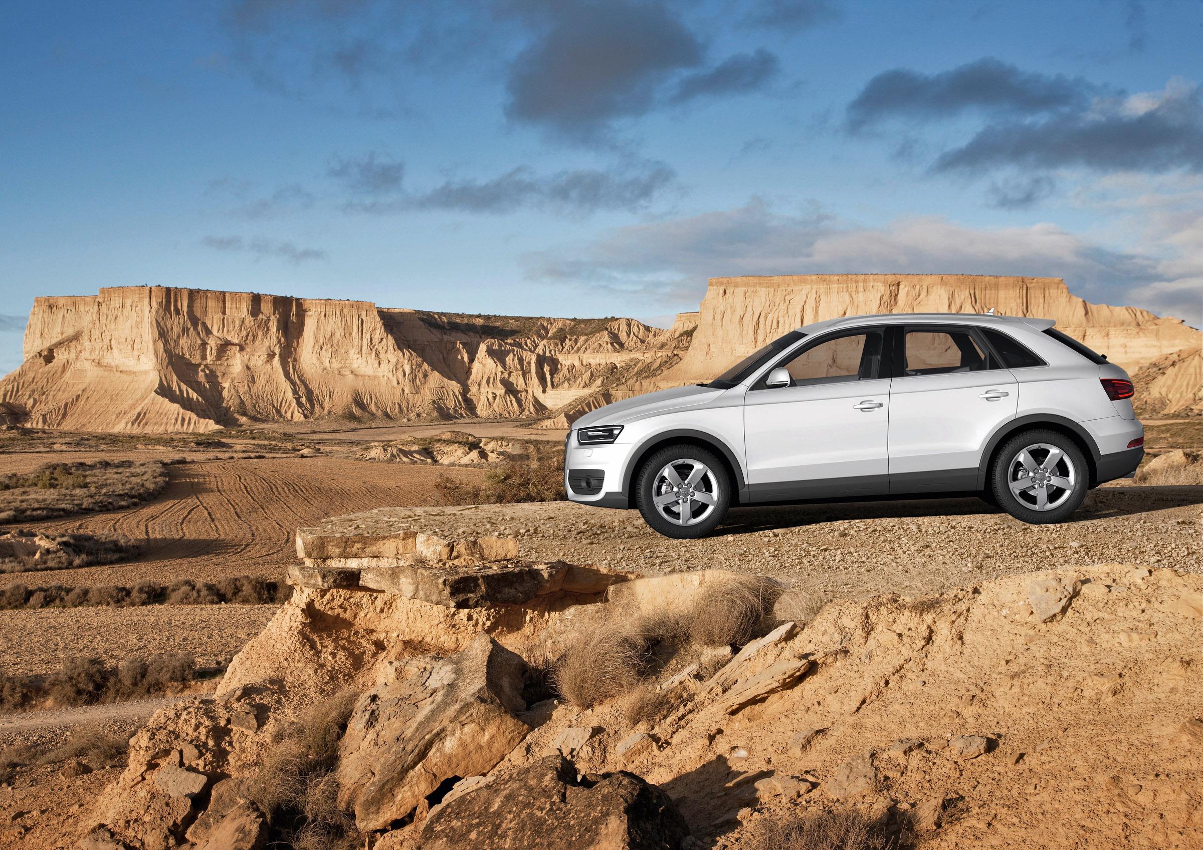 2012 Audi Q3 compact SUV price - £24 560 OTR