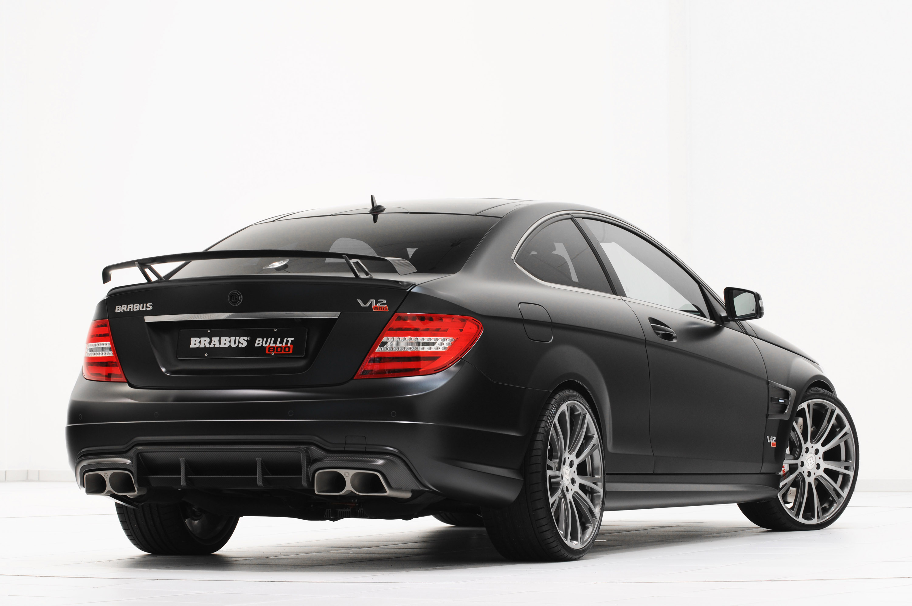 2012 brabus mercedes benz c 63 amg bullit coupe 800 for Mercedes benz brabus amg