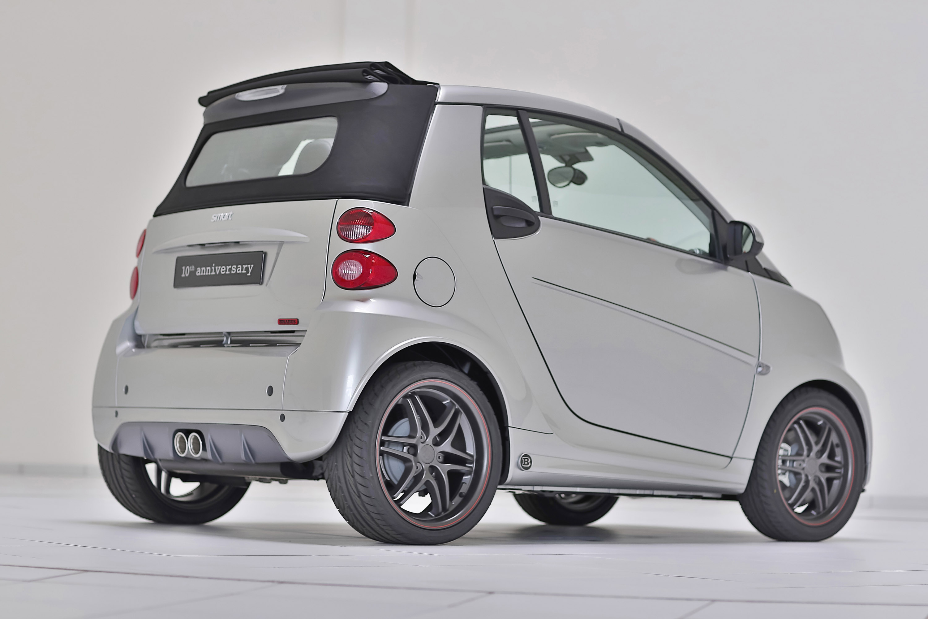 2012 brabus smart 10th anniversary special edition. Black Bedroom Furniture Sets. Home Design Ideas