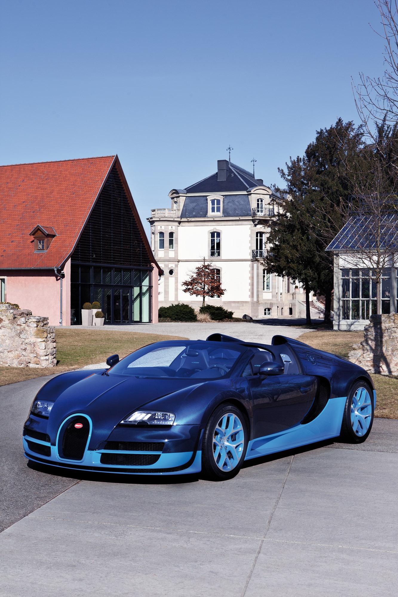 2012-bugatti-veyron-grand-sport-vitesse-blue-carbon-01 Fascinating Bugatti Veyron Grand Sport Vitesse 1/4 Mile Cars Trend