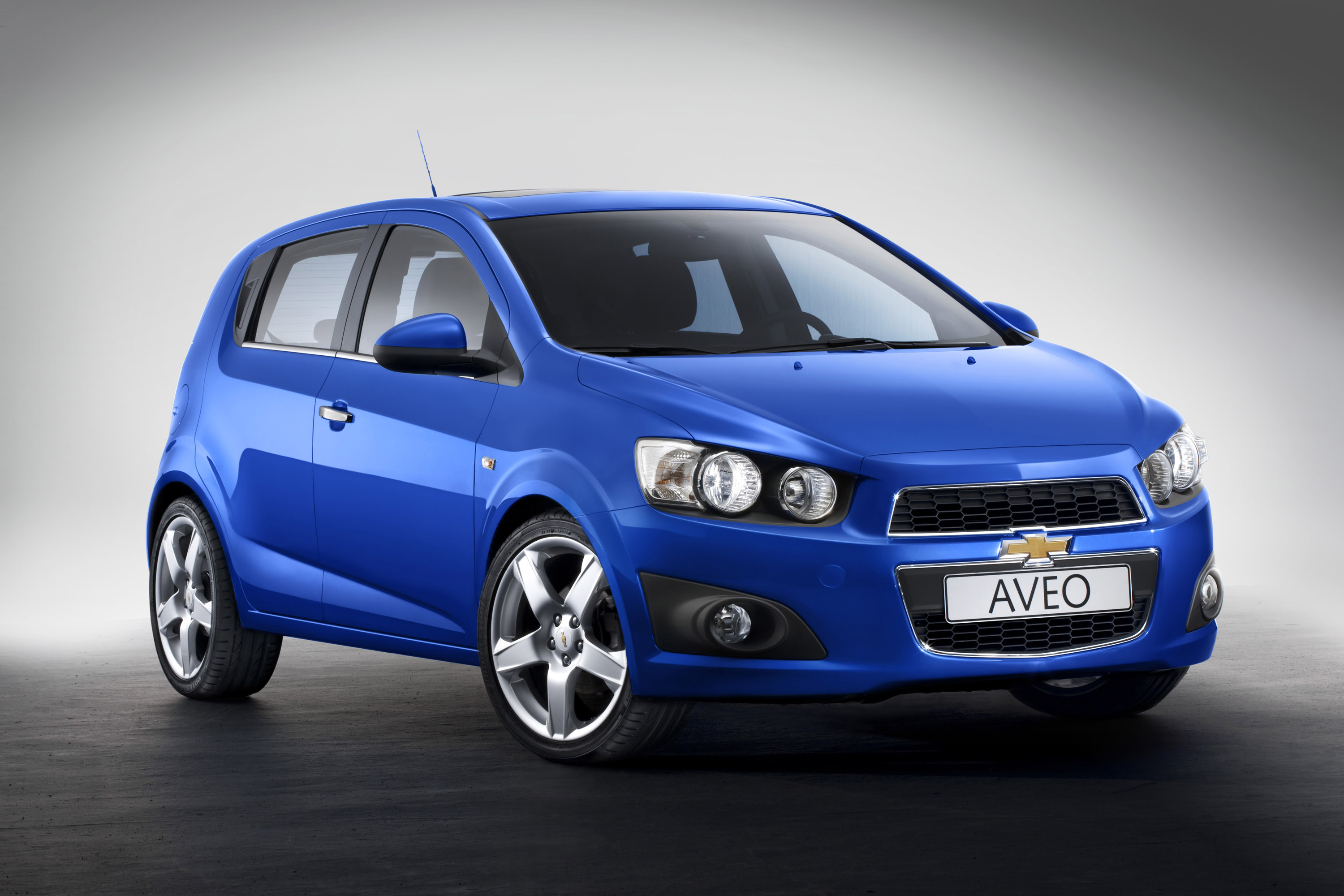 2012 Chevrolet Aveo Goes Into Production