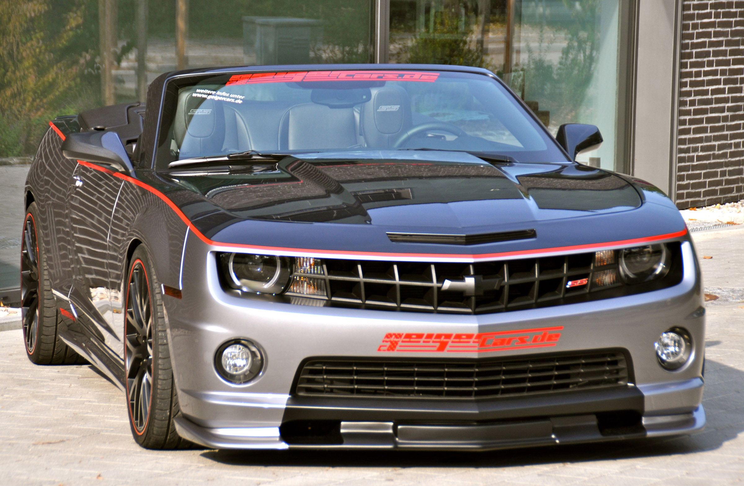 Chevrolet Camaro Ss Convertible Geiger Compressor