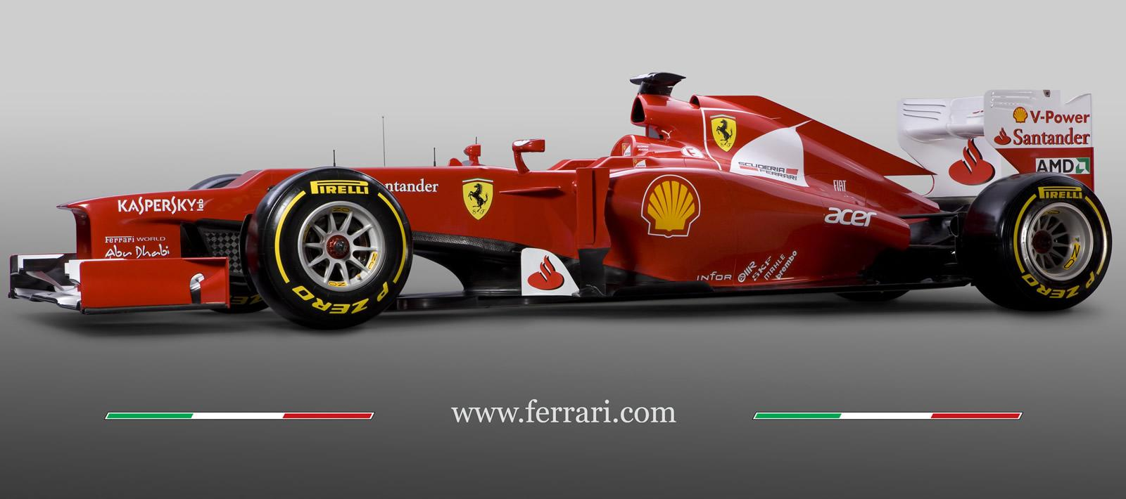 2012 F1 Season Ferrari F2012 Picture 64148