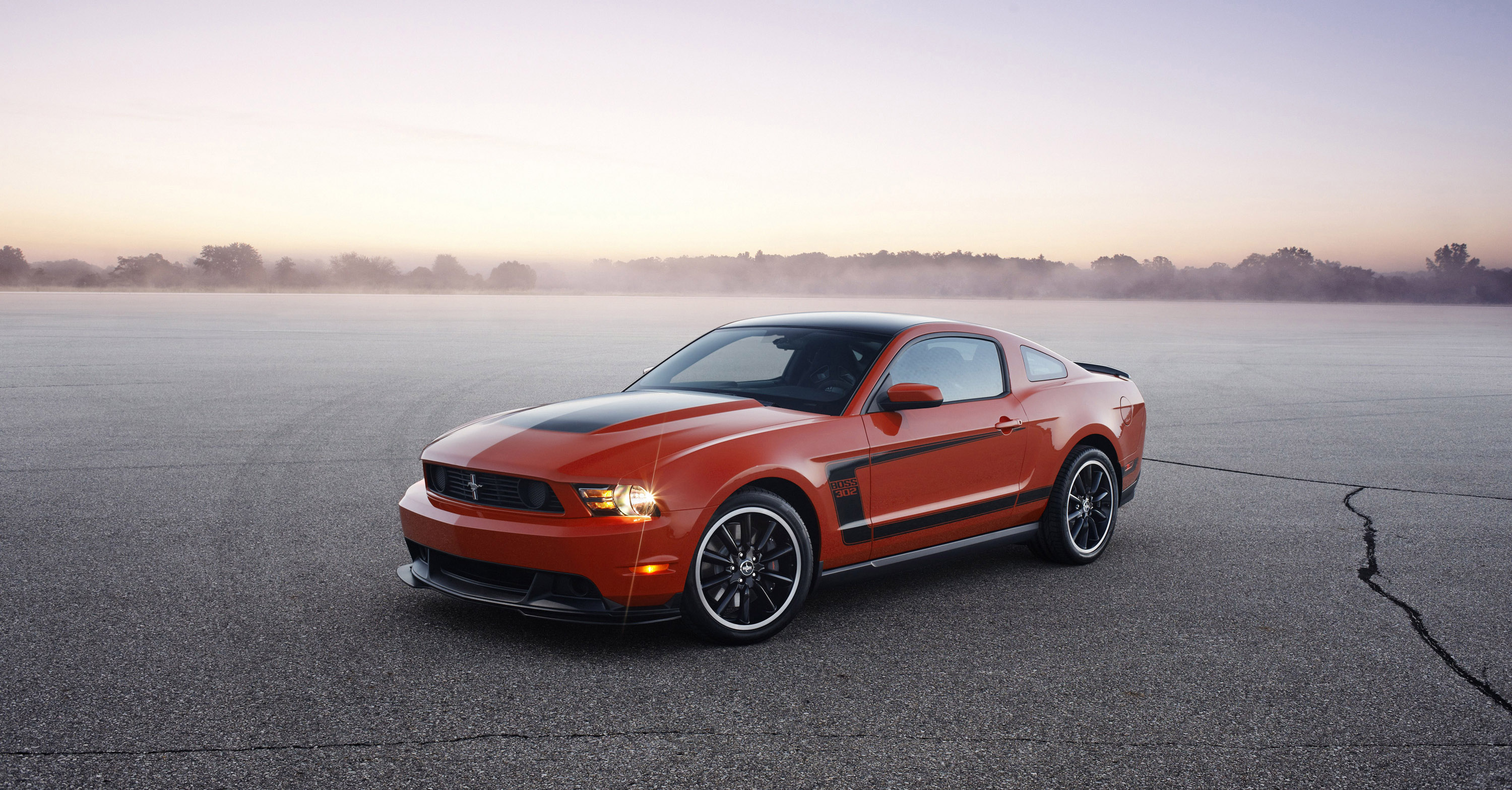 2012 Ford Mustang Boss 302 and Boss 302 Laguna Seca will join