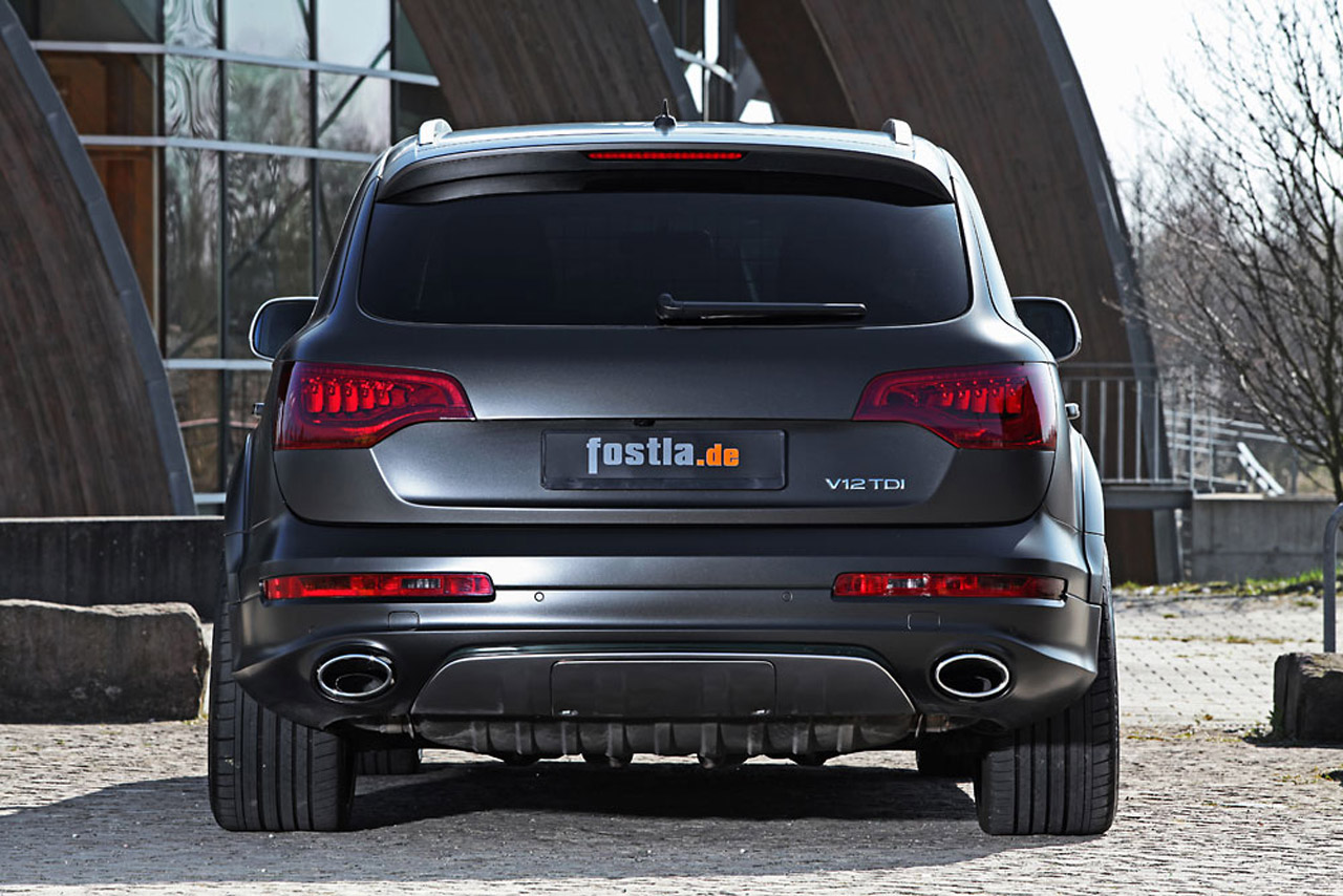 Fostla Audi Suv Now Offering Horsepower