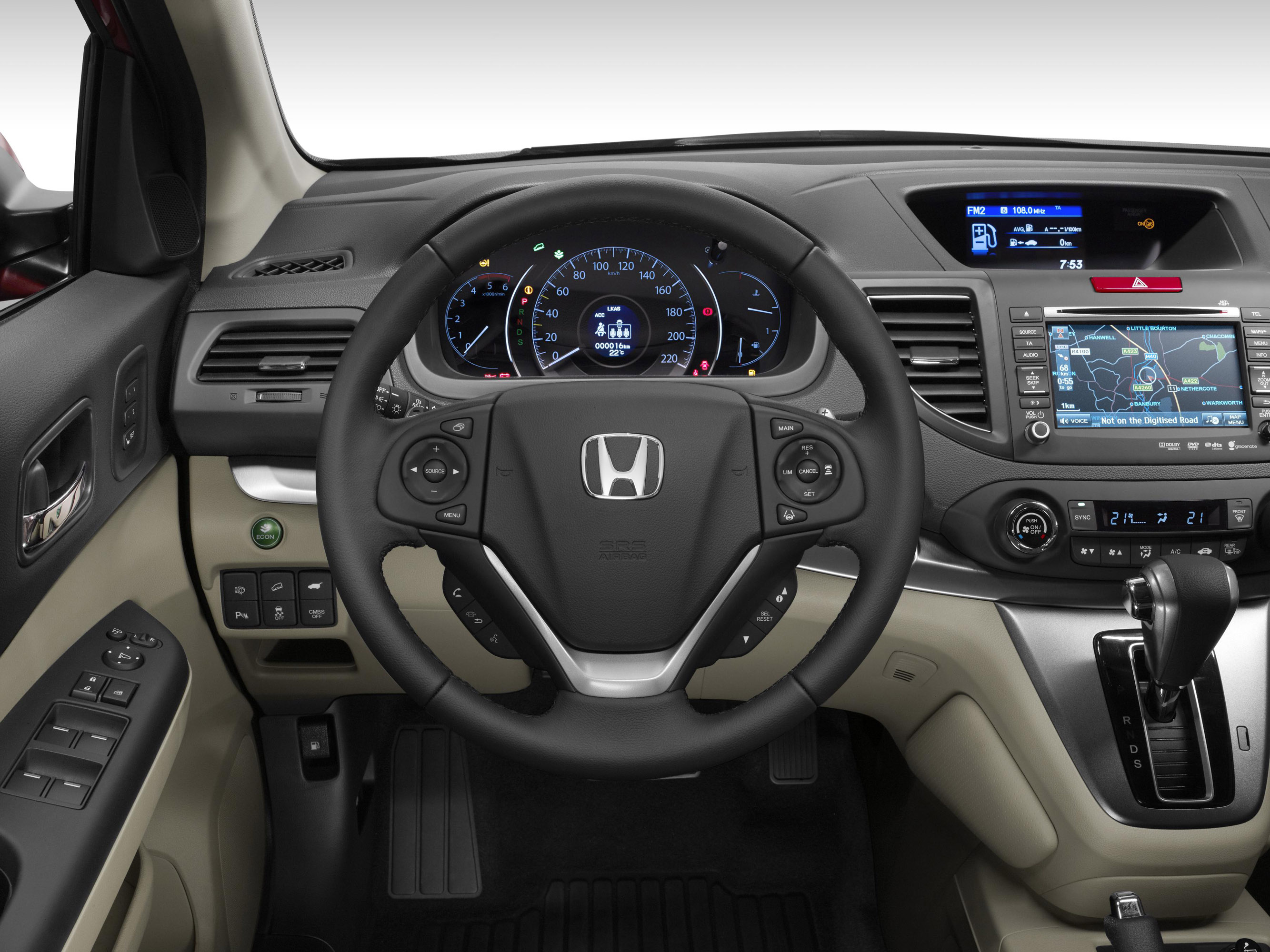honda cr  facelift video