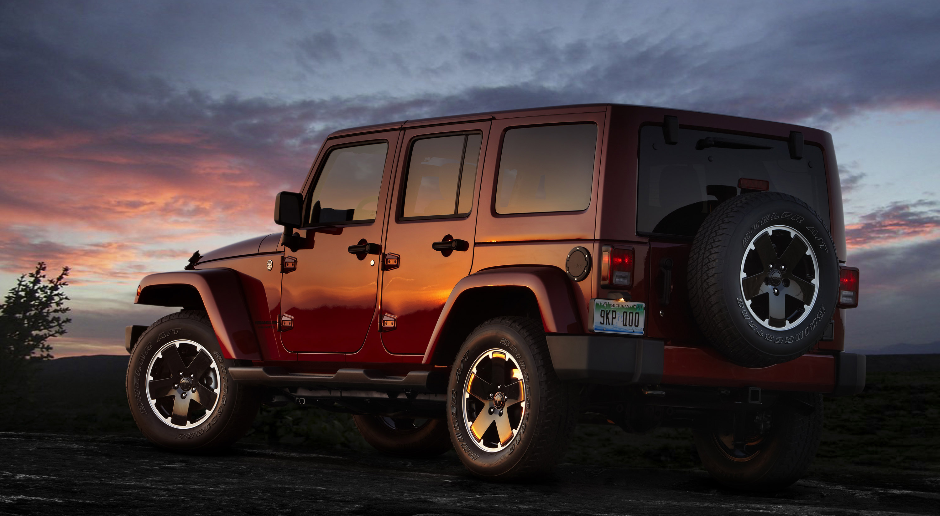 2012 Jeep Wrangler Unlimited Altitude: The New Limited-edition Model From Jeep