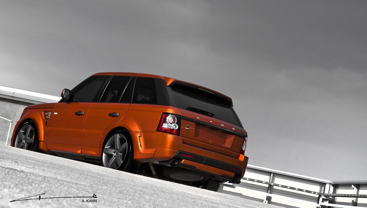 2012 Kahn Vesuvius Orange Range Rover Sport Picture 67007