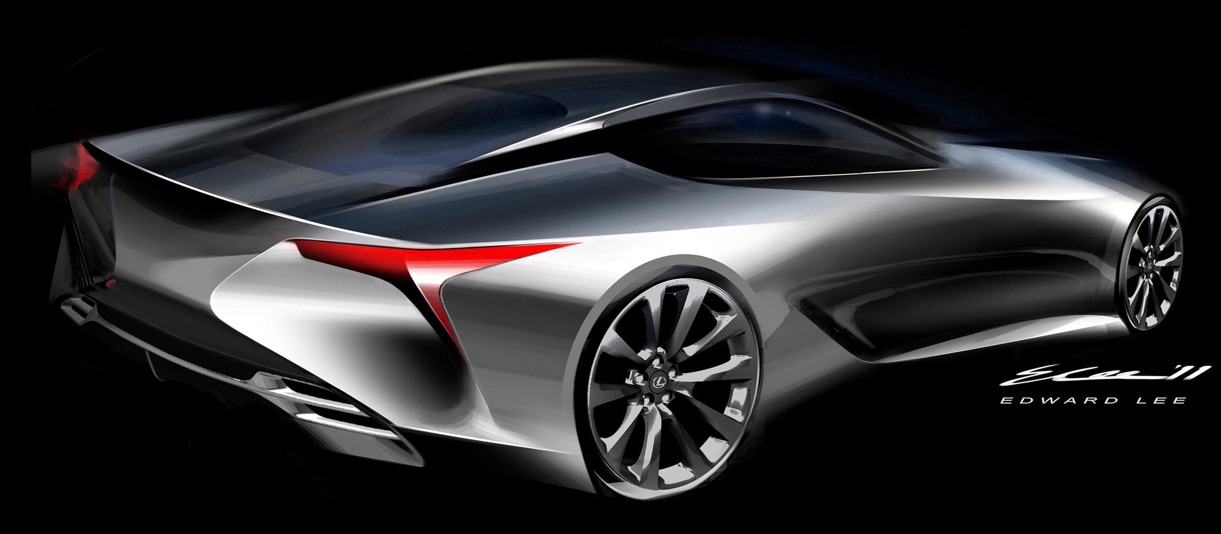 2012 Lexus LF-LC Sport Coupe Concept - Picture 63145