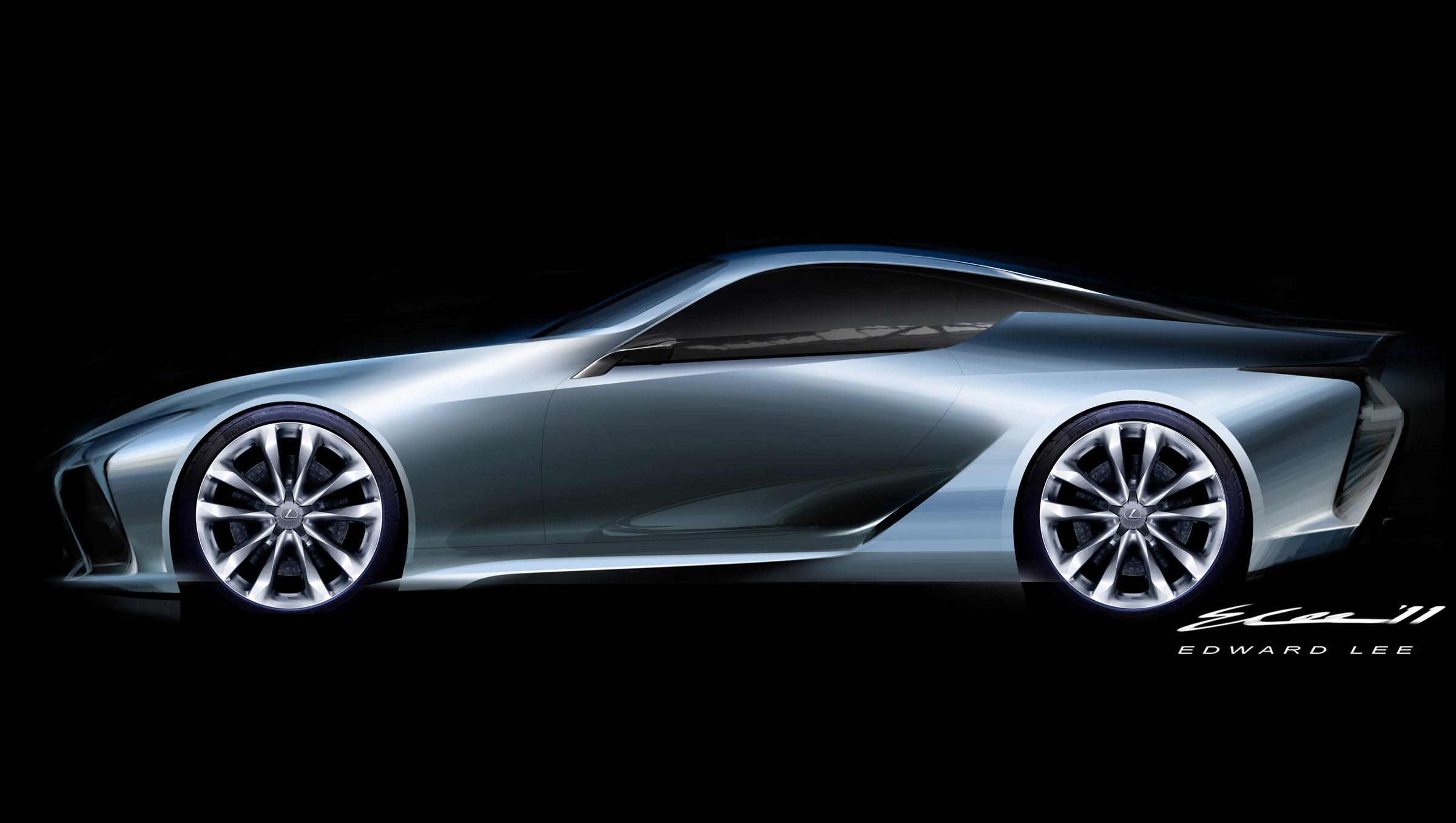 ... 2012 Lexus LF LC Sport Coupe Concept, ...