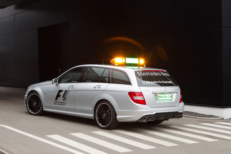 Mercedes Benz Sls Amg Review >> 2012 Formula 1 supported by Mercedes-Benz SLS AMG Safety Car and C 63 AMG Estate Medical Car