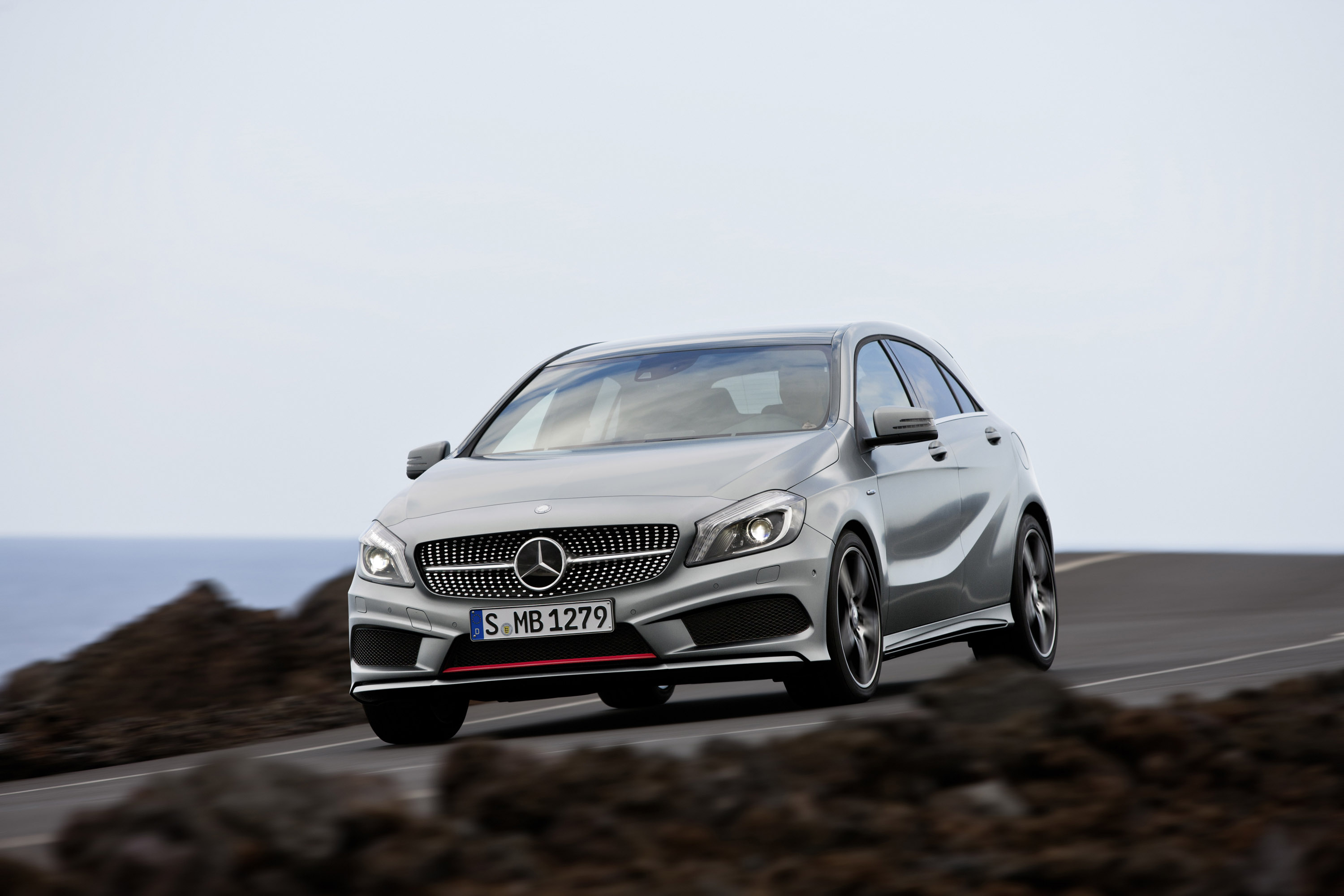 2012 mercedes benz a class with announced pricing. Black Bedroom Furniture Sets. Home Design Ideas