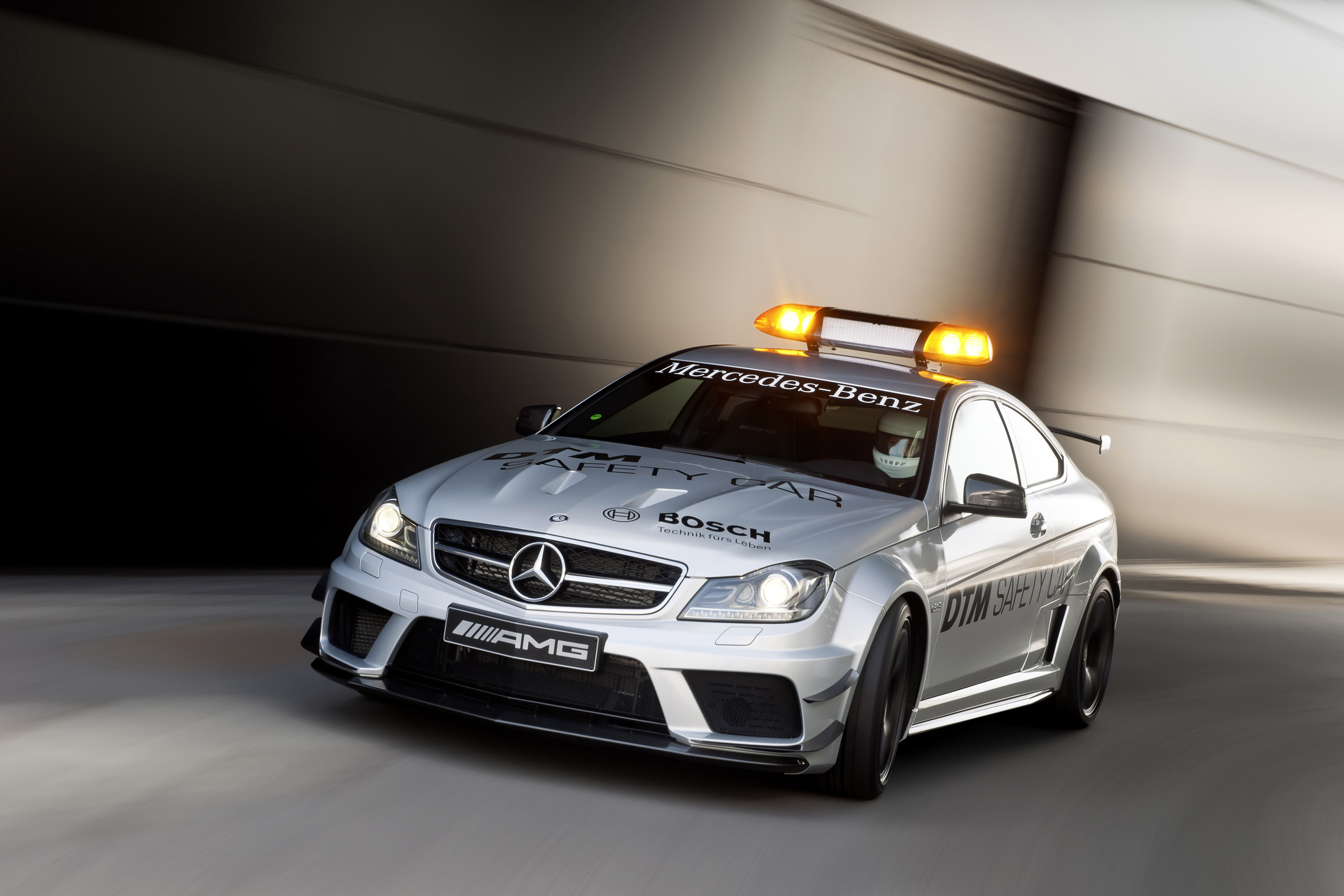 2012 mercedes benz c 63 amg coup black series safety car for Mercedes benz safety