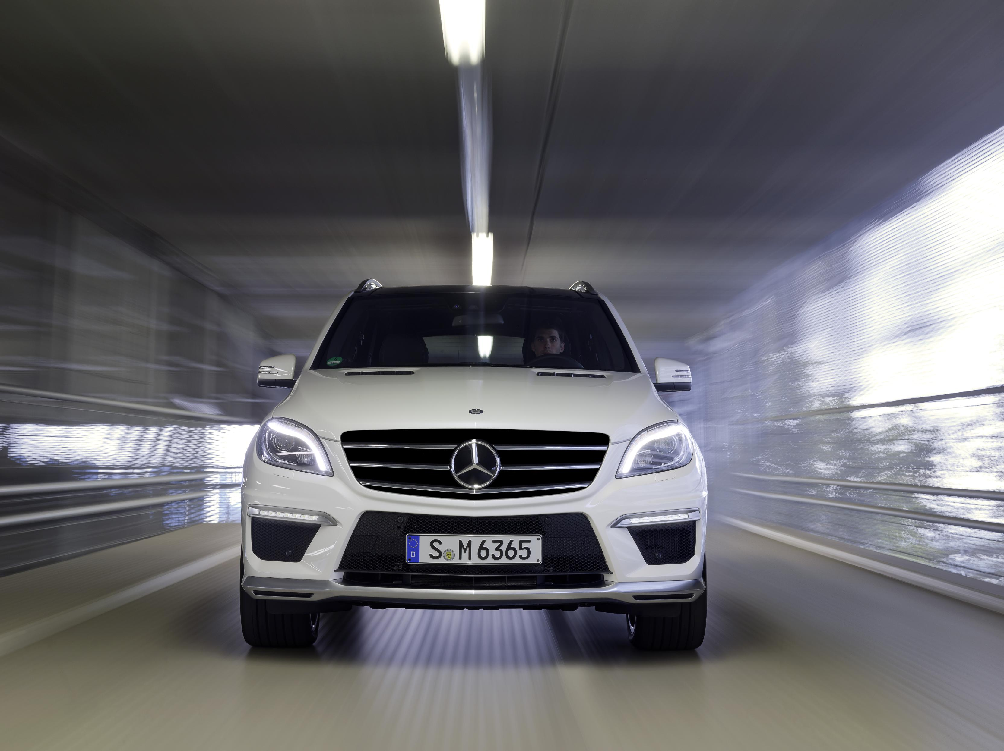 2012 Mercedes Benz Ml 63 Amg