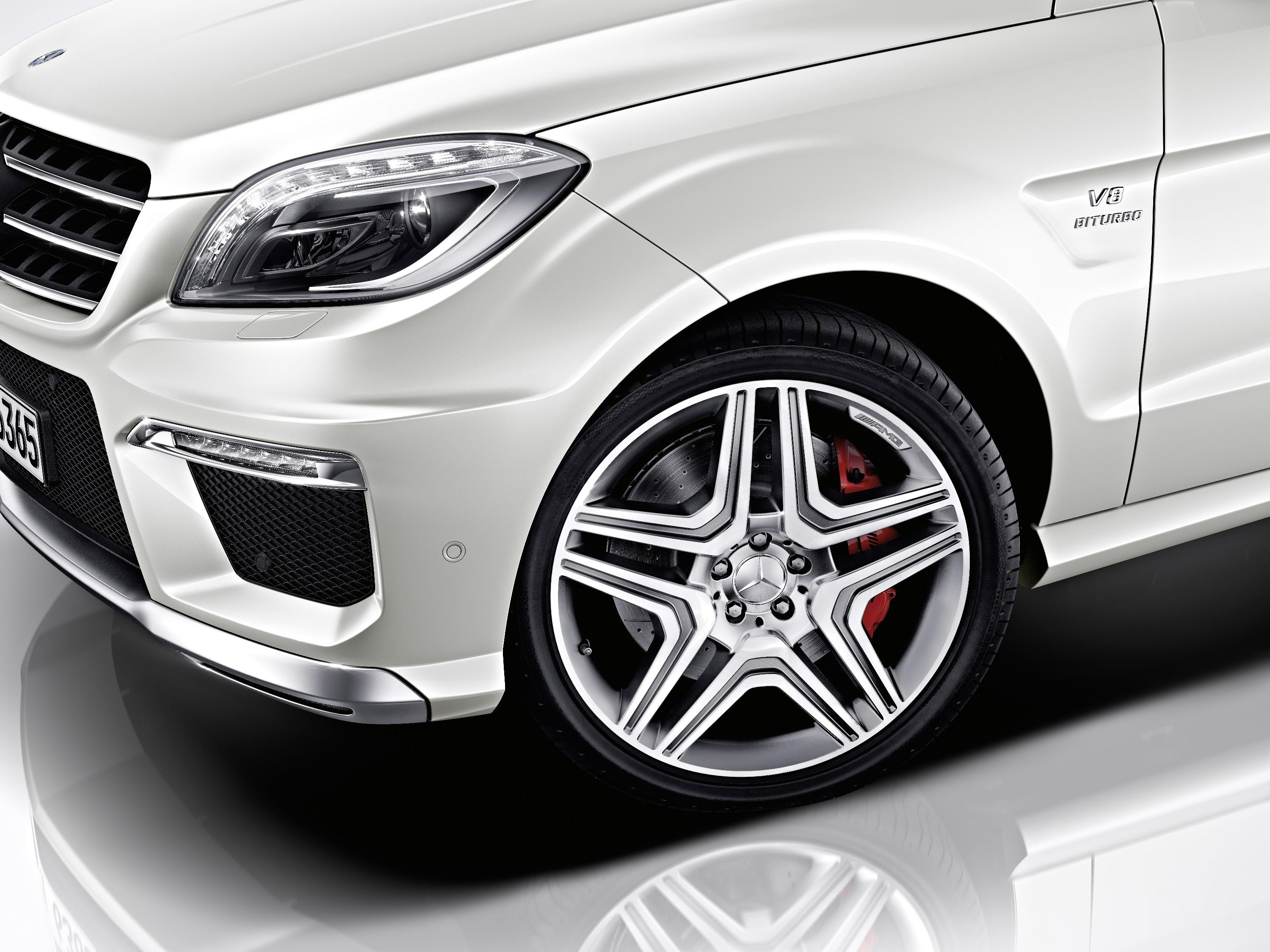 2012 Mercedes Benz Ml 63 Amg Picture 60717