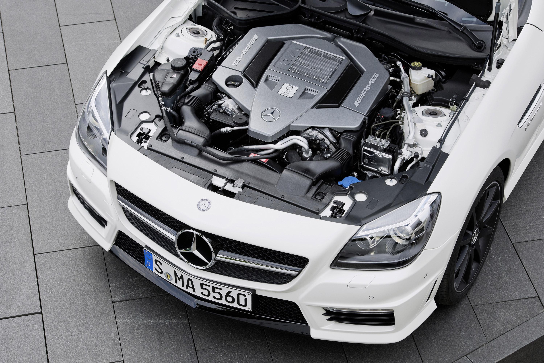 2012 mercedes benz slk 55 amg for Most fuel efficient mercedes benz