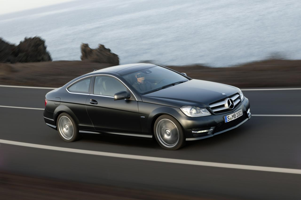 2012 mercedes c class coupe sales start. Black Bedroom Furniture Sets. Home Design Ideas