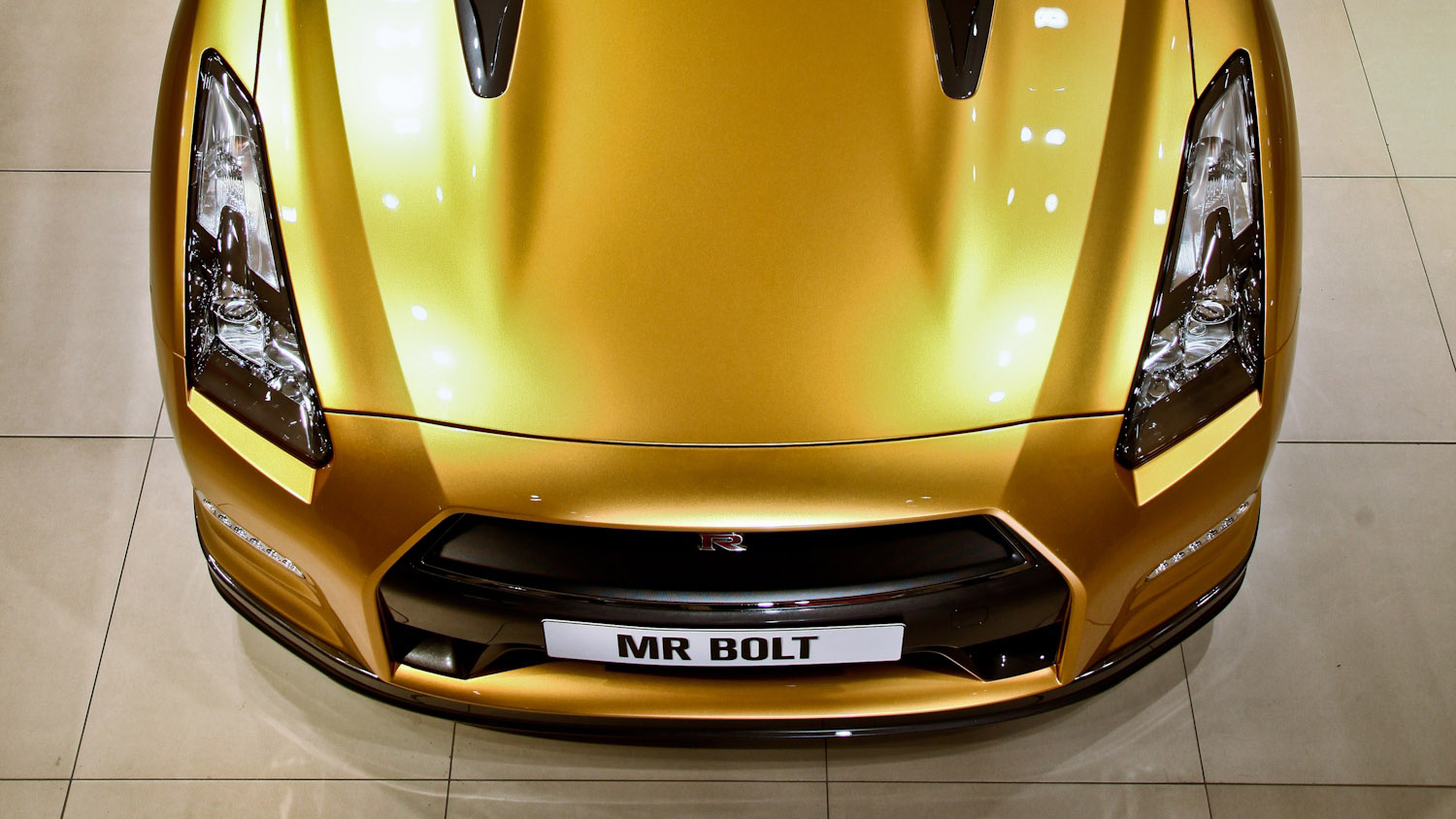 2012 Nissan Bolt GT-R to be Auctioned for Usain Bolt ...