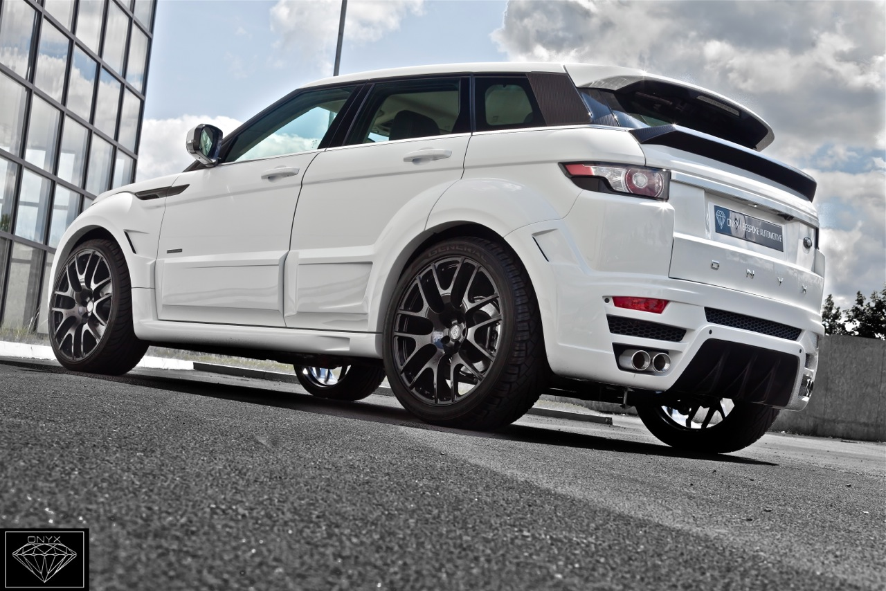 Range Rover Evoque Price >> 2012 Onyx Land Rover Rogue Edition
