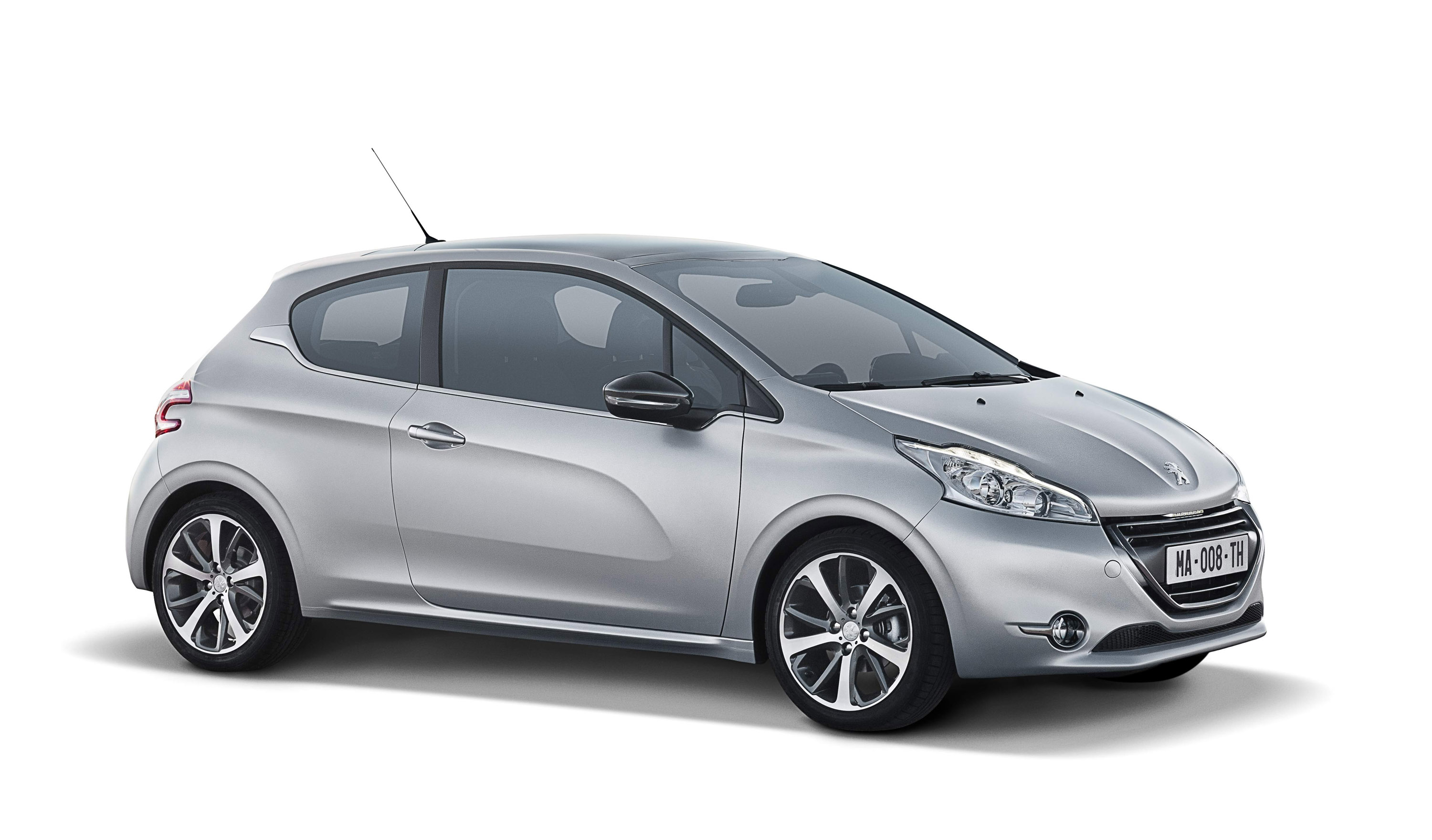 2012 peugeot 208 gains five start euro ncap rating. Black Bedroom Furniture Sets. Home Design Ideas
