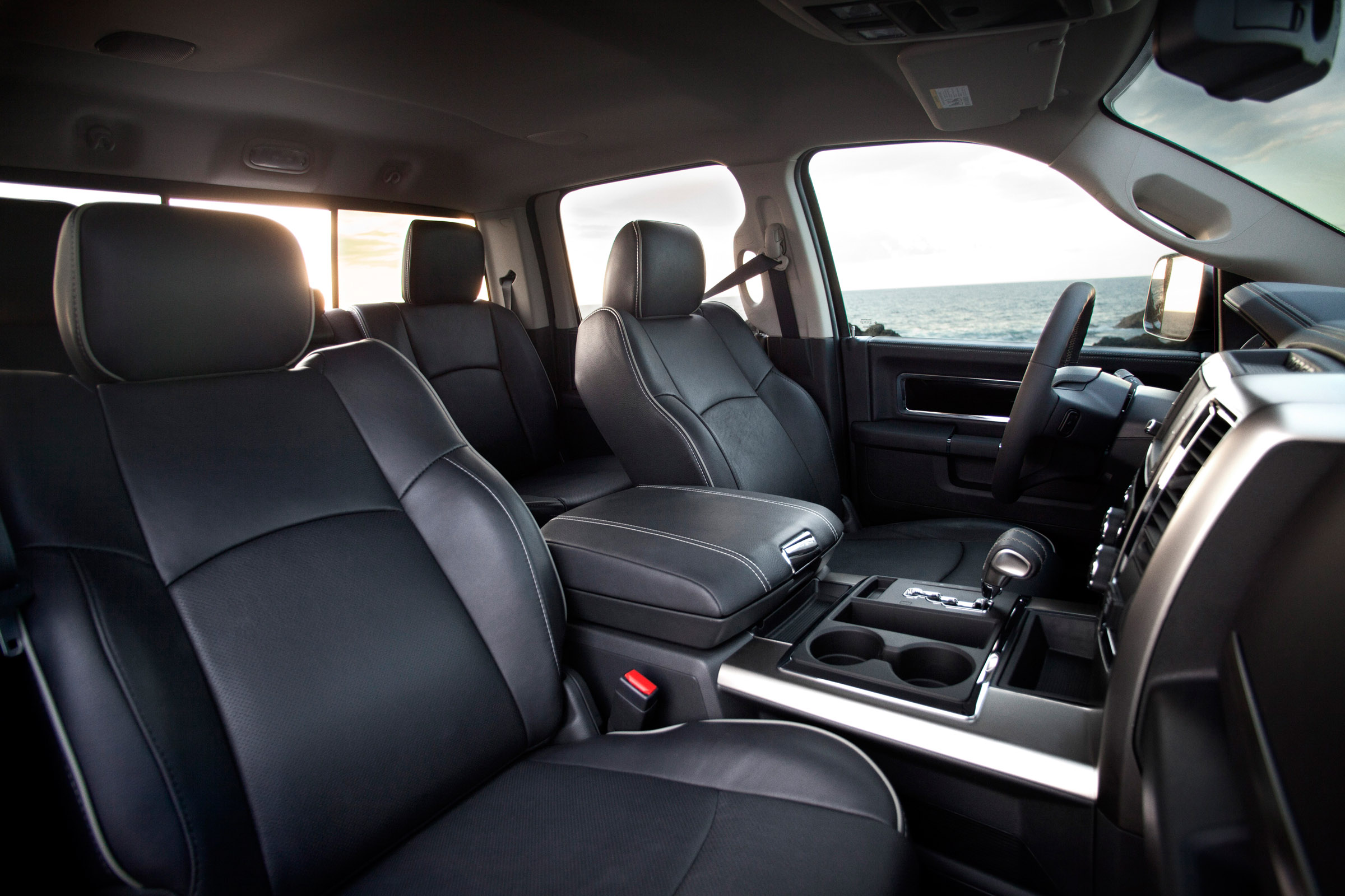 Ram Laramie Limited on Dodge Ram 3500 Interior
