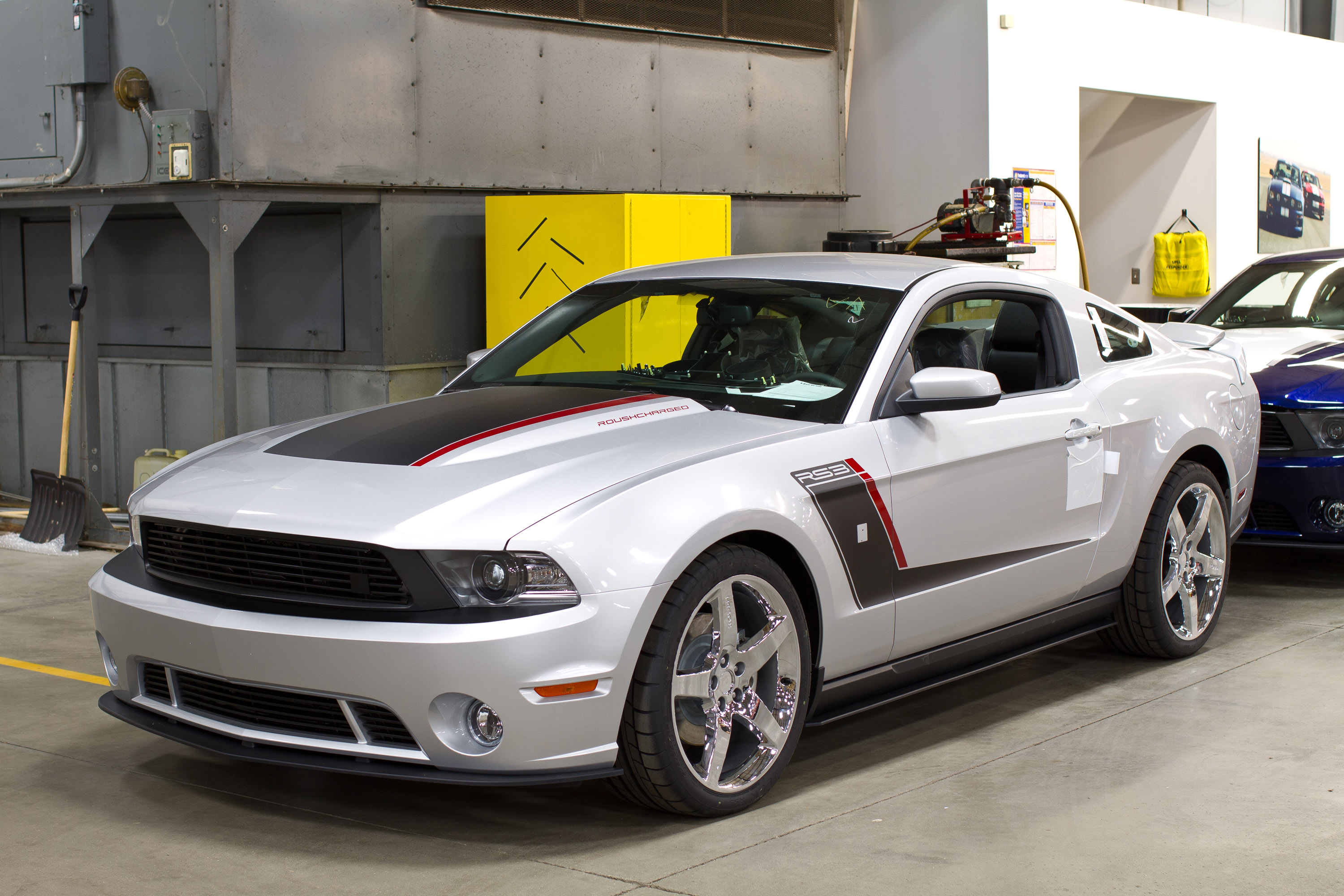 Roush Stage 3 >> John Moyer Gives The 2012 RS a Go
