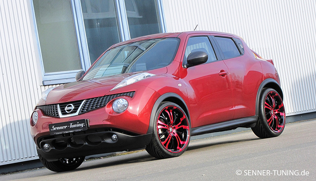 2012 Senner Nissan Juke 20 Tzunamee Candy Red will spice ...