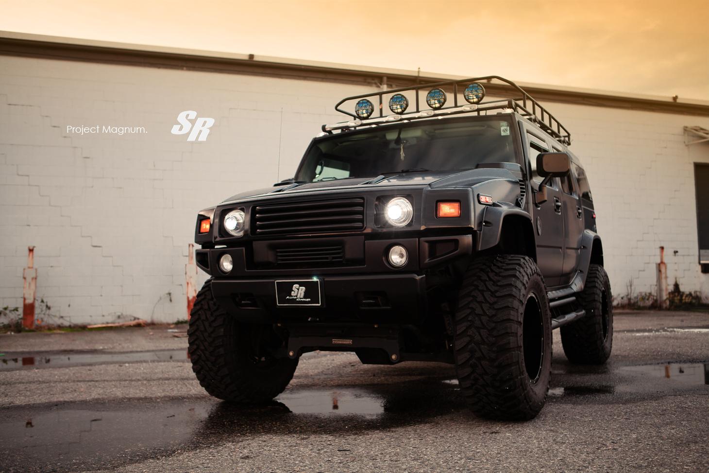 Project Magnum Sr Auto Hummer