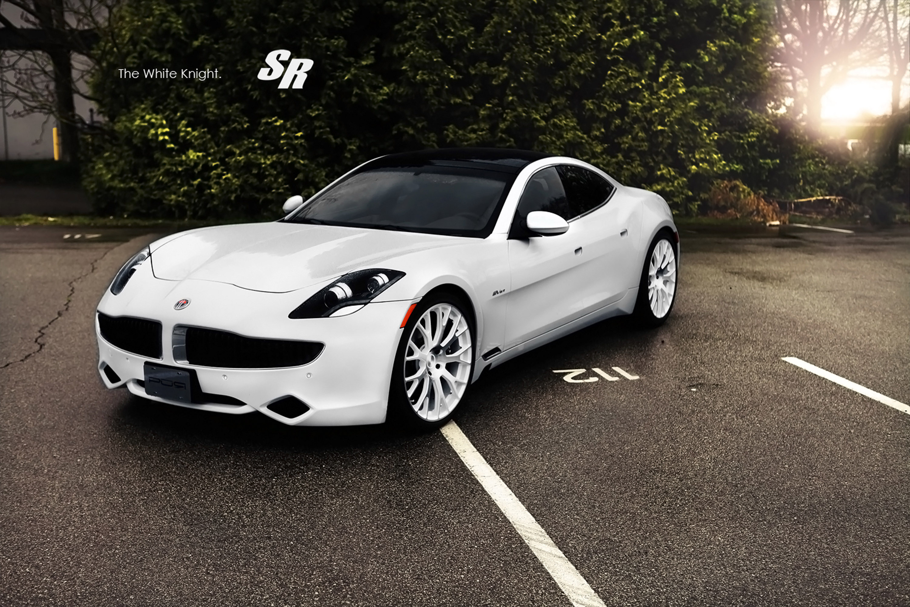 2012 Sr Fisker Karma Es The Debut Of The White Knight