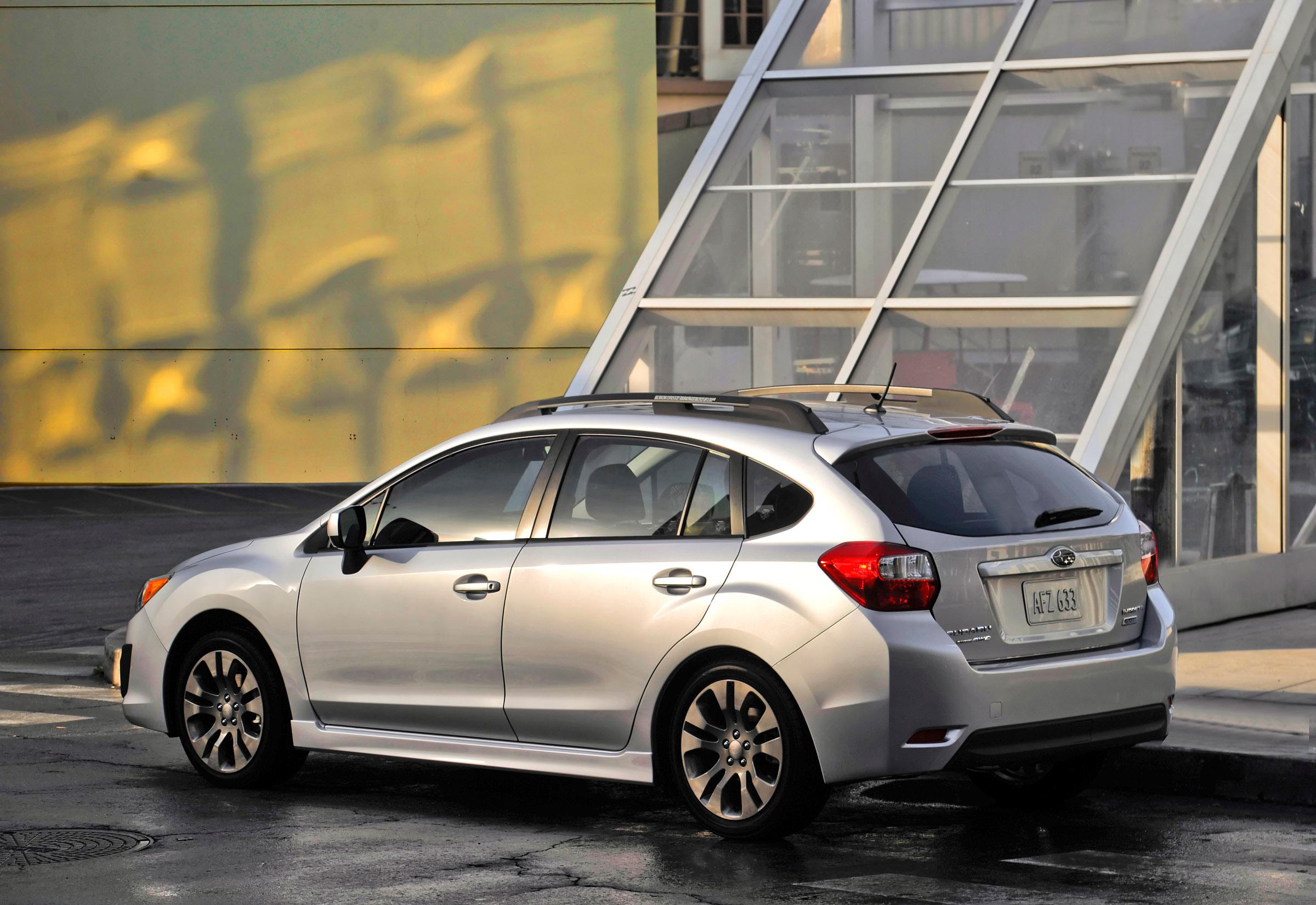 2012 subaru impreza officially introduced 2012 subaru impreza 20i sport limited 5 door vanachro Choice Image