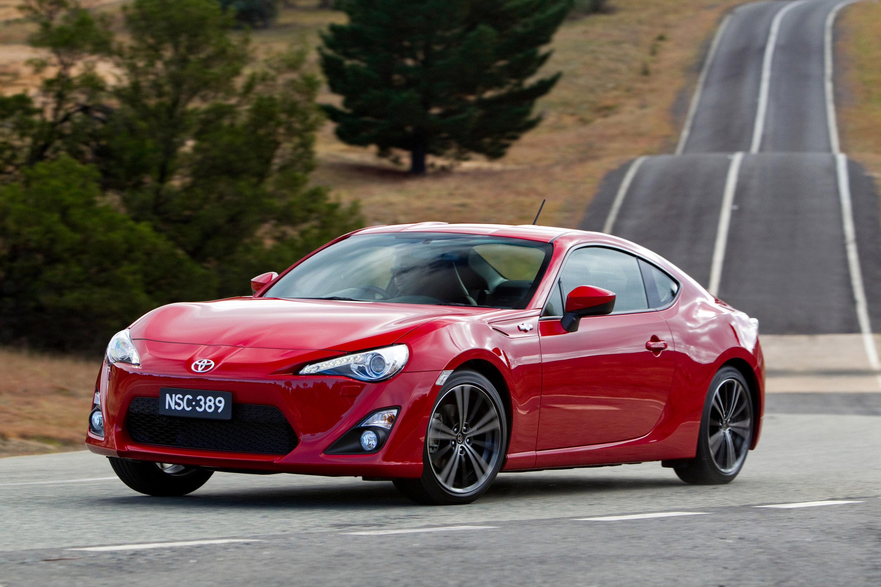 Toyota Gts on Horizontally Opposed 4 Cylinder Engine