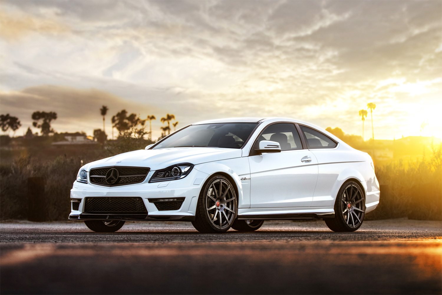 Vorsteiner mercedes benz c63 amg with new outdoor photoshoot - 2012 mercedes c63 amg coupe ...